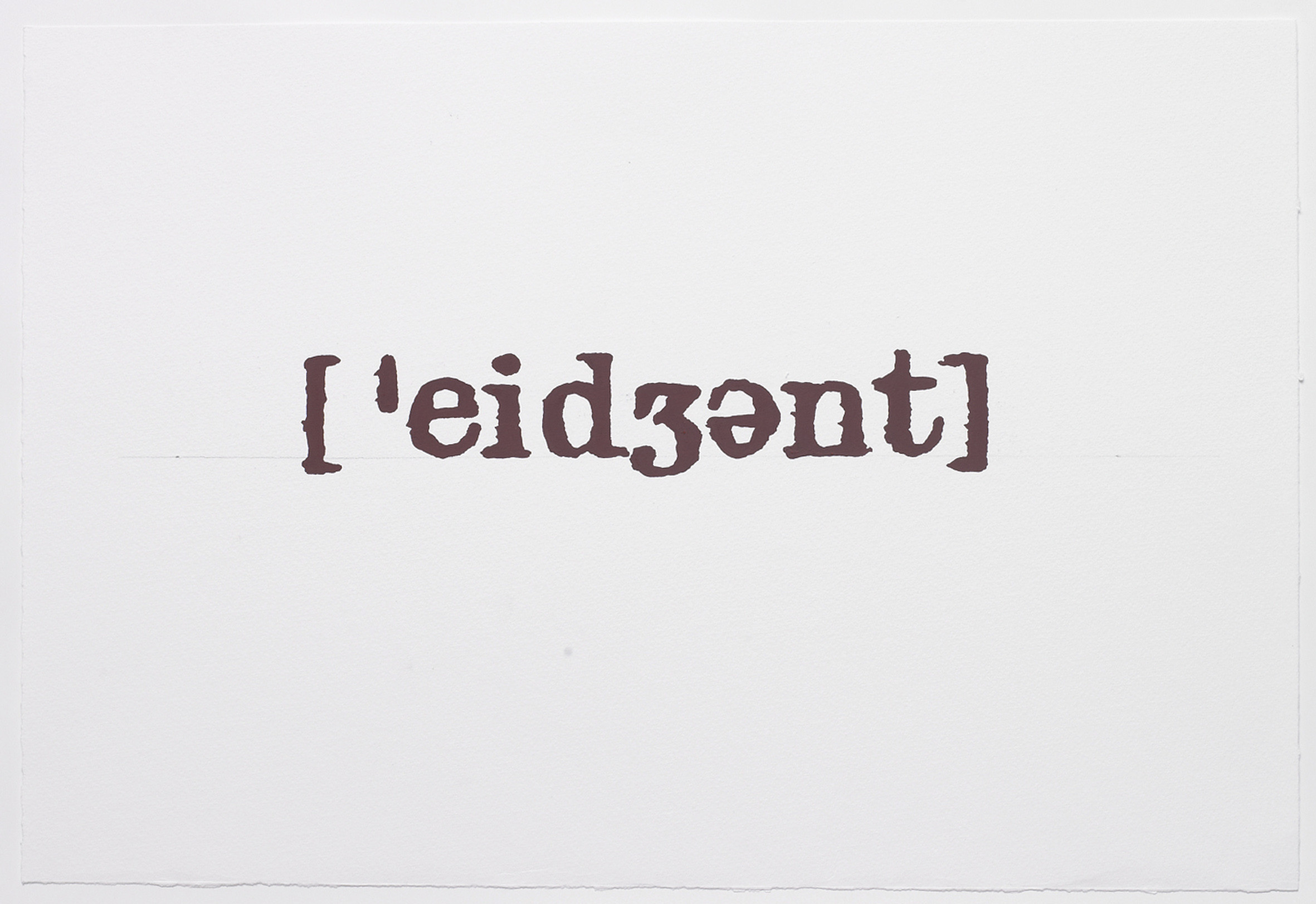 <span class=&#34;link fancybox-details-link&#34;><a href=&#34;/artists/25-birgir-andrsson/works/6322/&#34;>View Detail Page</a></span><div class=&#34;artist&#34;><strong>BIRGIR ANDRÉSSON</strong></div> <div class=&#34;title&#34;><em>Noise from the Dictionary  [´eid??nt]</em>, 2005</div> <div class=&#34;medium&#34;>guache, paper</div> <div class=&#34;dimensions&#34;>38 x 56 cm</div> <div class=&#34;edition_details&#34;></div>