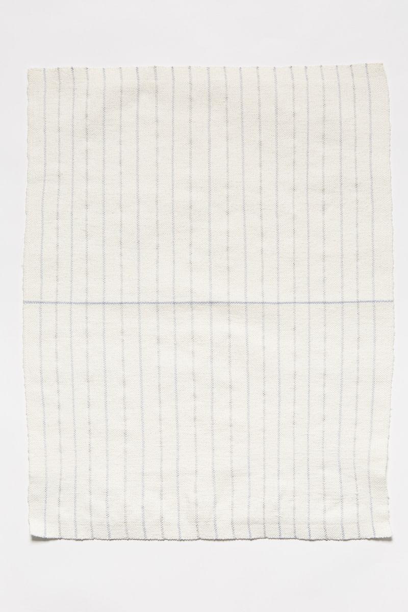 <span class=&#34;link fancybox-details-link&#34;><a href=&#34;/artists/38-arna-ttarsdttir/works/12148/&#34;>View Detail Page</a></span><div class=&#34;artist&#34;><strong>ARNA ÓTTARSDÓTTIR</strong></div> <div class=&#34;title&#34;><em>Dish Towel (for Agnes Martin)</em>, 2012</div> <div class=&#34;medium&#34;>cottolin, linen</div> <div class=&#34;dimensions&#34;>35 x 45 cm</div>