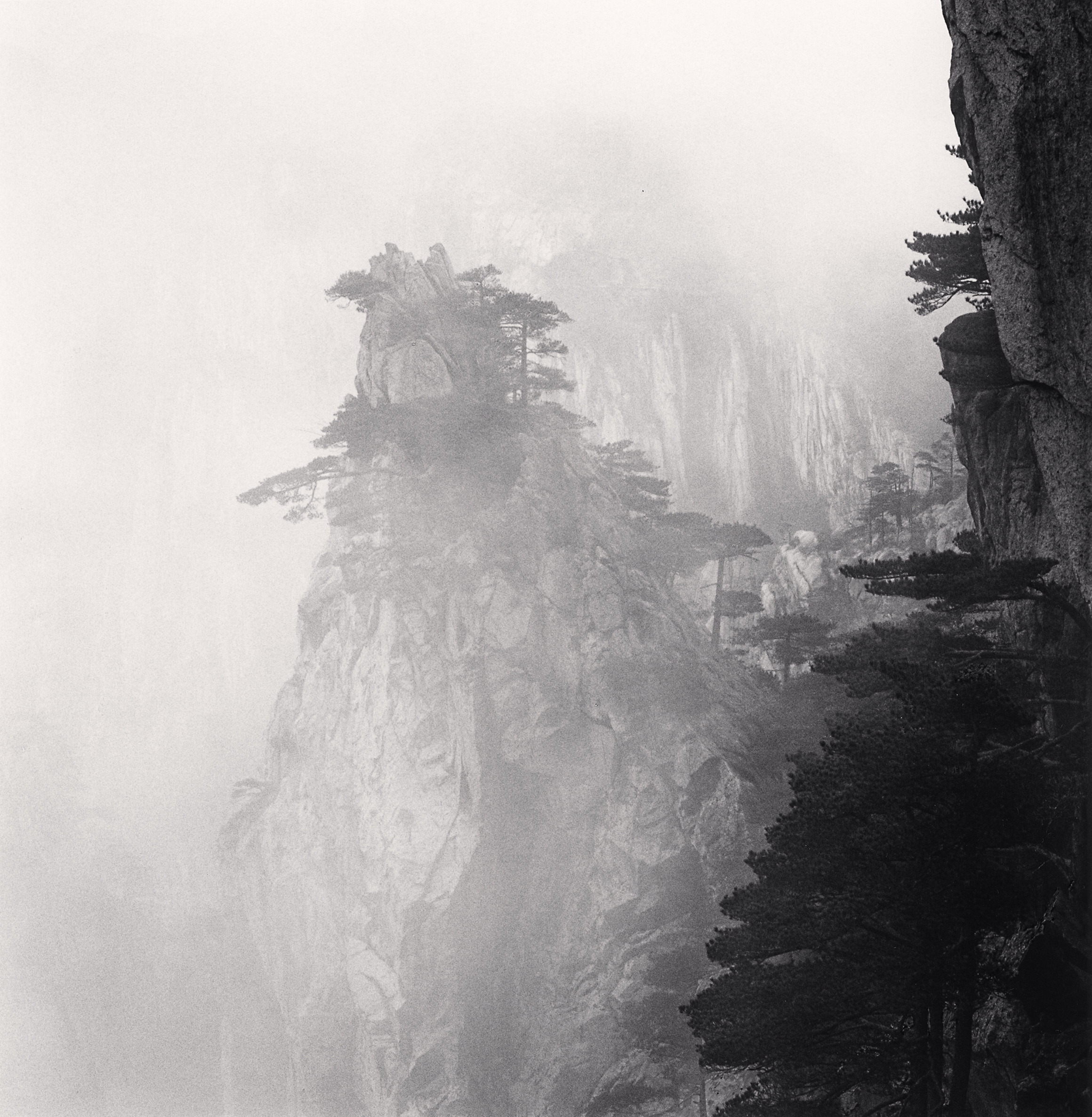 Michael Kenna Huangshan Mountains Study 56 Anhui
