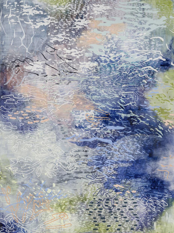 Laura Fayer, Mystic Moon, 2018 | Markel Fine Arts