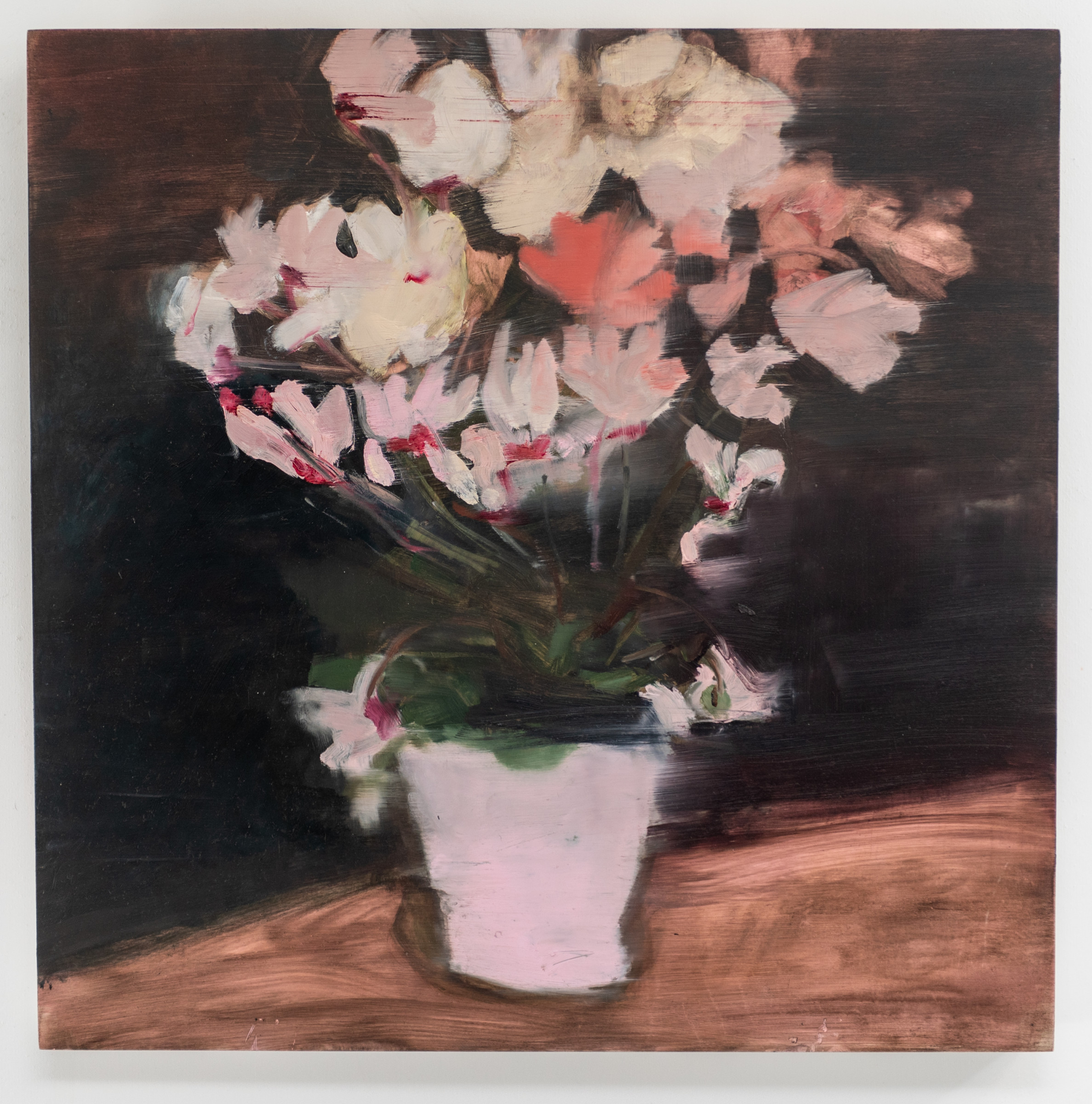 """<span class=""""link fancybox-details-link""""><a href=""""/artists/56-hadas-tal/works/717-hadas-tal-saturday-night-still-life/"""">View Detail Page</a></span><div class=""""artist""""><strong>Hadas Tal</strong></div> <div class=""""title""""><em>Saturday Night Still Life</em></div> <div class=""""medium"""">Oil on Wood Panel</div> <div class=""""dimensions"""">16 x 16 inches </div>"""