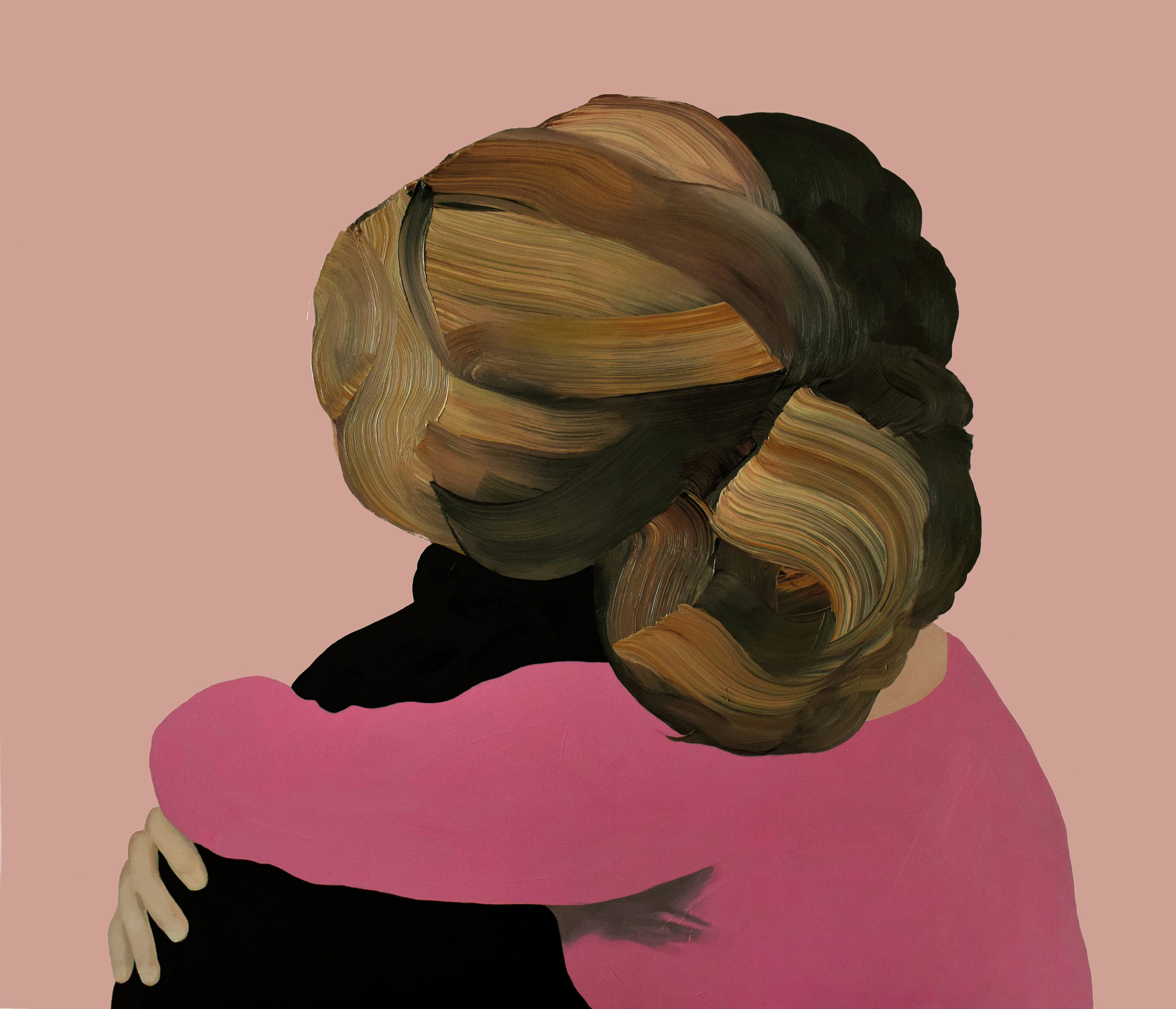 "<span class=""link fancybox-details-link""><a href=""/artists/54-jarek-puczel/works/334-jarek-puczel-entangled-ii/"">View Detail Page</a></span><div class=""artist""><strong>Jarek Puczel</strong></div> <div class=""title""><em>Entangled II</em></div> <div class=""medium"">Oil on Canvas</div> <div class=""dimensions"">47 x 55 inches</div>"