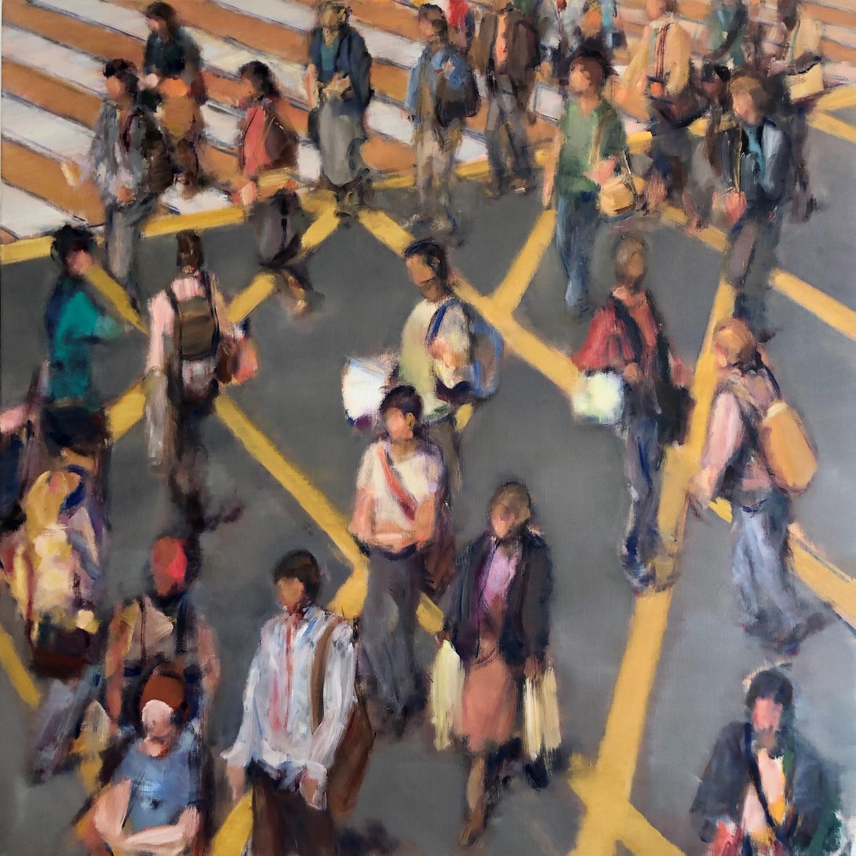 """<span class=""""link fancybox-details-link""""><a href=""""/artists/59-simon-nicholas/works/588-simon-nicholas-crosswalk-vi/"""">View Detail Page</a></span><div class=""""artist""""><strong>Simon Nicholas</strong></div> <div class=""""title""""><em>Crosswalk VI</em></div> <div class=""""medium"""">Oil on Linen</div> <div class=""""dimensions"""">47 x 47 inches</div>"""