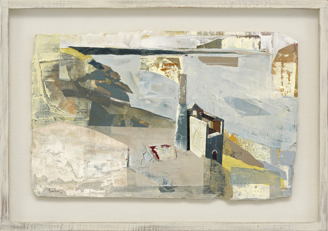 """<span class=""""link fancybox-details-link""""><a href=""""/artists/139-jeremy-gardiner/works/931/"""">View Detail Page</a></span><div class=""""artist""""><strong>Jeremy Gardiner</strong></div> Born 1957 <div class=""""title""""><em>Towanroath Engine House, Wheal Coates, Cornwall</em></div> <div class=""""signed_and_dated"""">signed and dated 2018<br /> titled verso</div> <div class=""""medium"""">acrylic and jesmonite on poplar panel</div> <div class=""""dimensions"""">35 x 55 cms (14 x 21½ ins)<br /> framed: 48 x 67 cms (19 x 26½ ins)</div>"""