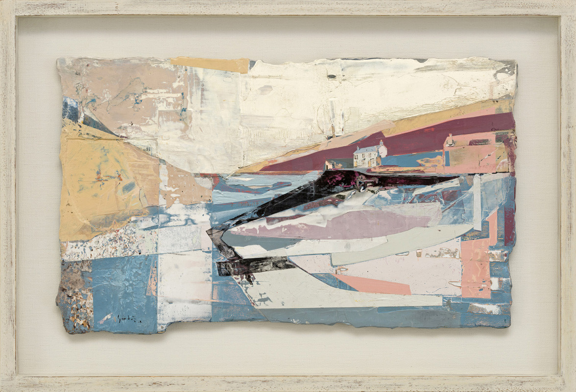 """<span class=""""link fancybox-details-link""""><a href=""""/artists/139-jeremy-gardiner/works/925/"""">View Detail Page</a></span><div class=""""artist""""><strong>Jeremy Gardiner</strong></div> Born 1957 <div class=""""title""""><em>Port Quin Hamlet and Cove, Cornwall</em></div> <div class=""""signed_and_dated"""">signed and dated 2018<br /> titled verso</div> <div class=""""medium"""">acrylic and jesmonite on poplar panel</div> <div class=""""dimensions"""">30 x 50 cms (12 x 19½ ins)<br /> framed: 43 x 62 cms (17 x 24½ ins)</div>"""