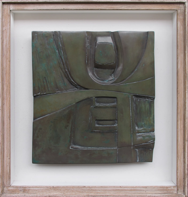 <span class=&#34;link fancybox-details-link&#34;><a href=&#34;/artists/58-john-milne/works/951/&#34;>View Detail Page</a></span><div class=&#34;artist&#34;><strong>John Milne</strong></div> 1931-1978 <div class=&#34;title&#34;><em>Delphi</em></div> <div class=&#34;signed_and_dated&#34;>number 2 from an edition of 9<br /> cast 1968</div> <div class=&#34;medium&#34;>cold cast aluminium</div> <div class=&#34;dimensions&#34;>31 x 20 cms (12.25 x 11.5 ins)<br /> framed:  45.5 x 43 cms (18 x 17 ins)</div>