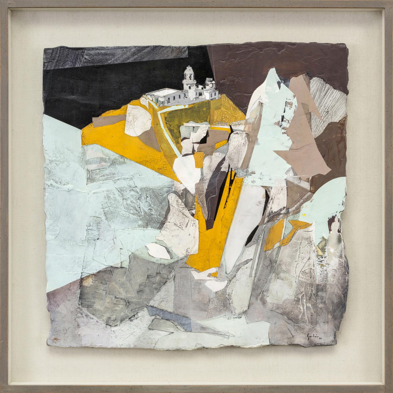 <span class=&#34;link fancybox-details-link&#34;><a href=&#34;/artists/47-jeremy-gardiner/works/704/&#34;>View Detail Page</a></span><div class=&#34;artist&#34;><strong>Jeremy Gardiner</strong></div> Born 1957 <div class=&#34;title&#34;><em>Summer Solstice, Lundy North Lighthouse</em></div> <div class=&#34;signed_and_dated&#34;>signed and dated 2016<br /> titled verso  </div> <div class=&#34;medium&#34;>acrylic and jesmonite on poplar panel</div> <div class=&#34;dimensions&#34;>61 x 61cms (24 x 24ins)</div>