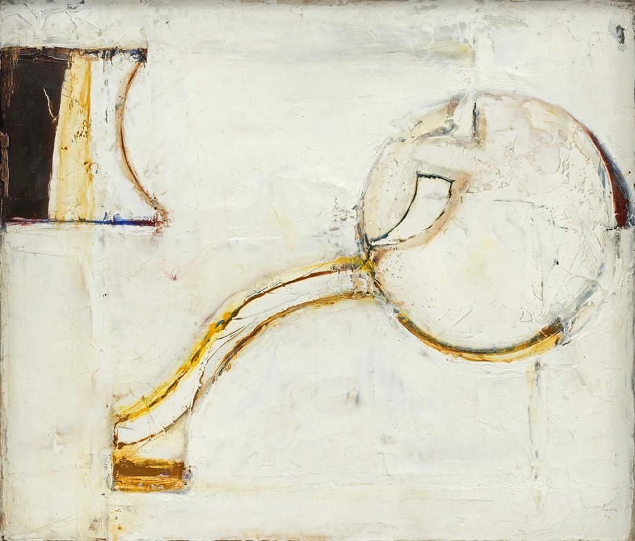 <span class=&#34;link fancybox-details-link&#34;><a href=&#34;/artists/77-paul-feiler/works/180/&#34;>View Detail Page</a></span><div class=&#34;artist&#34;><strong>Paul Feiler</strong></div> 1918-2013 <div class=&#34;title&#34;><em>Related Forms VIII</em>, 1966/7</div> <div class=&#34;signed_and_dated&#34;>signed, dated 1966/7 and titled verso</div> <div class=&#34;medium&#34;>oil on canvas</div> <div class=&#34;dimensions&#34;>30.5 x 35.5 cms (12 x 14 ins)</div>