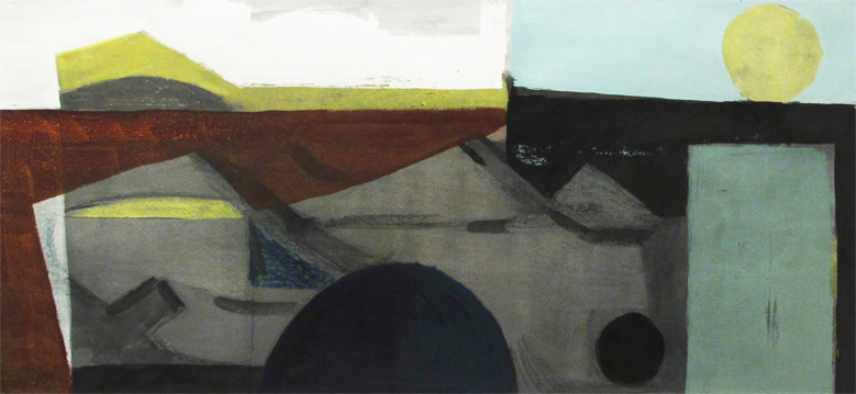 <span class=&#34;link fancybox-details-link&#34;><a href=&#34;/artists/69-wilhelmina-barns-graham/works/614/&#34;>View Detail Page</a></span><div class=&#34;artist&#34;><strong>Wilhelmina Barns-Graham</strong></div> 1912-2004 <div class=&#34;title&#34;><em>Green Moon</em></div> <div class=&#34;signed_and_dated&#34;>signed with artist's initials and dated 1953<br /> title inscribed verso</div> <div class=&#34;medium&#34;>gouache</div> <div class=&#34;dimensions&#34;>22 x 47.5 cms (9 x 19 ins)</div>