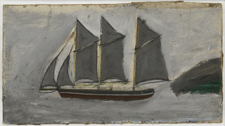 <span class=&#34;link fancybox-details-link&#34;><a href=&#34;/artists/126-alfred-wallis/works/679/&#34;>View Detail Page</a></span><div class=&#34;artist&#34;><strong>Alfred Wallis</strong></div> 1855-1942 <div class=&#34;title&#34;><em>Schooner in Full Sail</em></div> <div class=&#34;medium&#34;>pencil and oil on board</div> <div class=&#34;dimensions&#34;>18 x 33 cms (7 x 13 ins)</div>