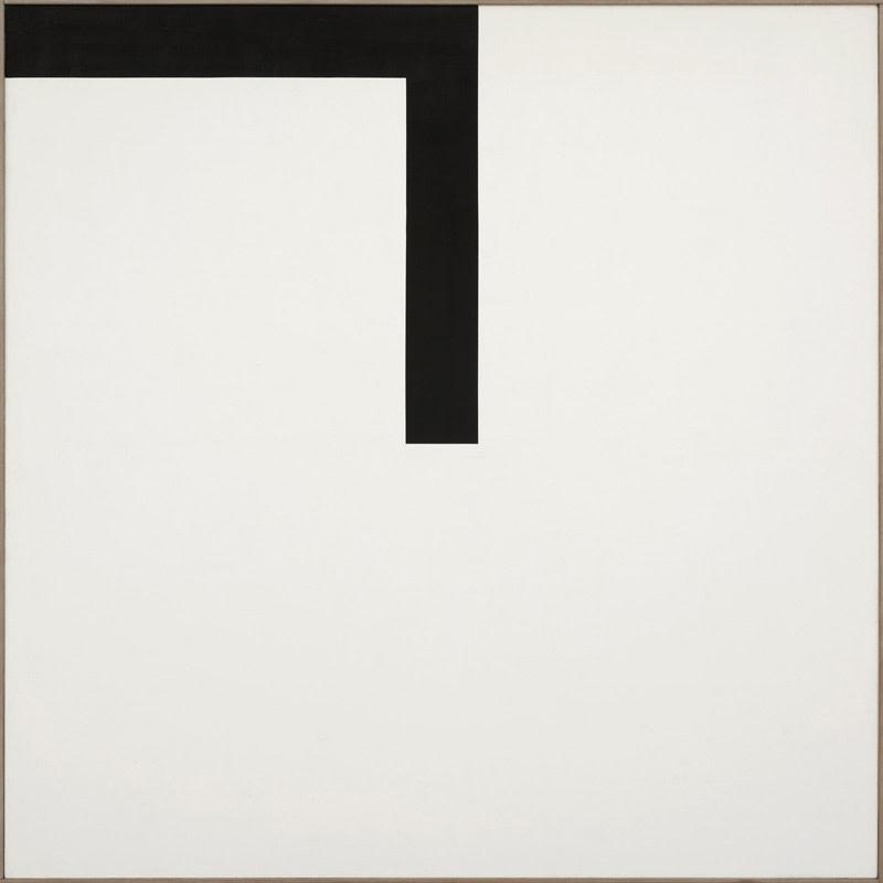 "<span class=""link fancybox-details-link""><a href=""/artists/63-john-plumb/works/84/"">View Detail Page</a></span><div class=""artist""><strong>John Plumb</strong></div> 1927-2008 <div class=""title""><em>Black Towards Centre</em></div> <div class=""signed_and_dated"">signed, dated 1968 and titled verso</div> <div class=""medium"">PVA and acrylic emulsiion on cotton duck</div> <div class=""dimensions"">198 x 198 cms (78 x 78 ins)<br /> framed: 201 x 201 cms (79¼ x 79¼ ins)</div>"