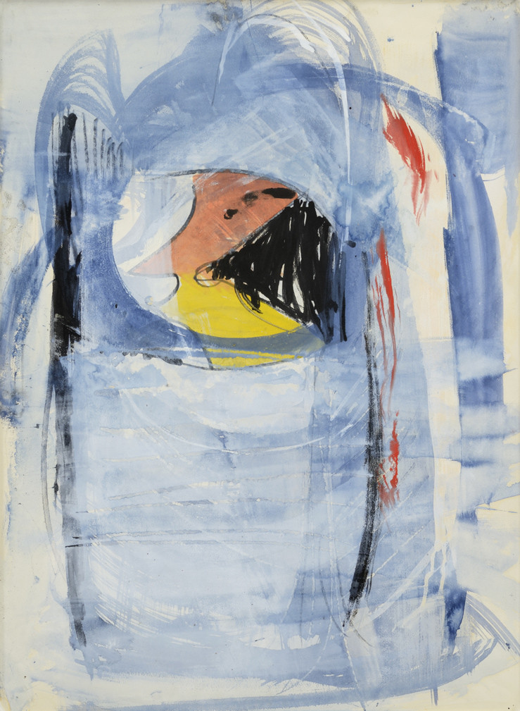 <span class=&#34;link fancybox-details-link&#34;><a href=&#34;/artists/128-peter-lanyon/works/742/&#34;>View Detail Page</a></span><div class=&#34;artist&#34;><strong>Peter Lanyon</strong></div> 1918-1964 <div class=&#34;title&#34;><em>Look Back</em></div> <div class=&#34;signed_and_dated&#34;>signed, dated Nov 61 and titled verso</div> <div class=&#34;medium&#34;>watercolour & gouache on paper</div> <div class=&#34;dimensions&#34;>77 x 56.5 cms (30 x 22 ins)</div>