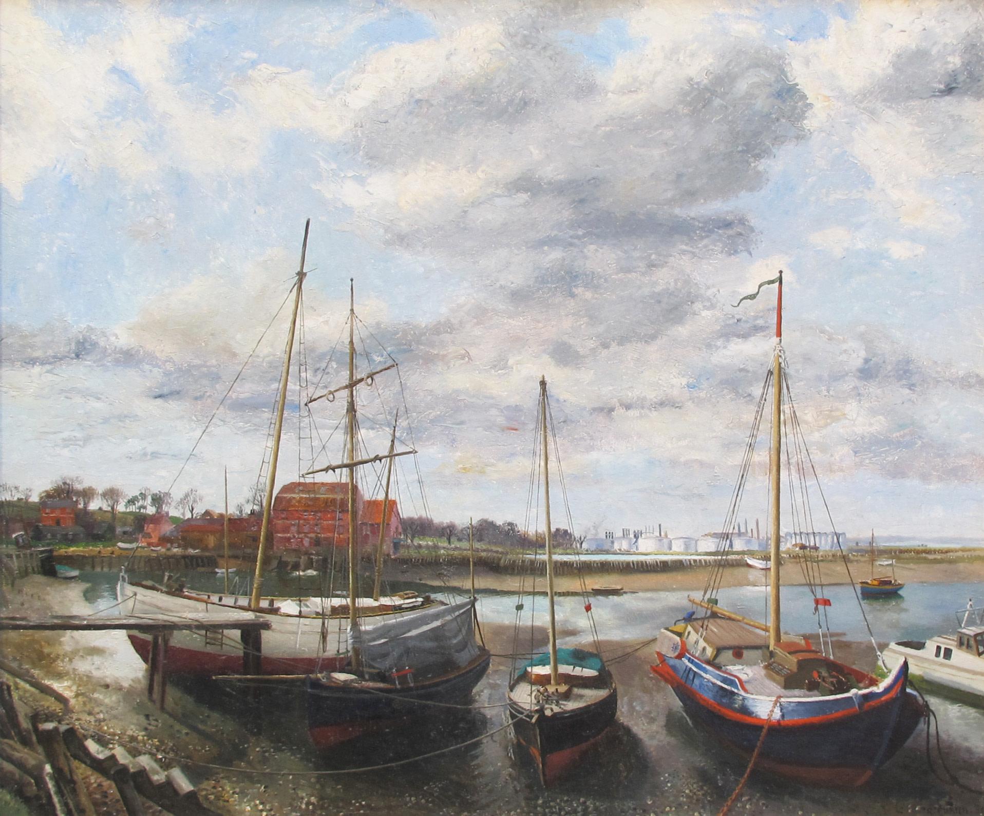 <span class=&#34;link fancybox-details-link&#34;><a href=&#34;/artists/42-richard-eurich/works/765/&#34;>View Detail Page</a></span><div class=&#34;artist&#34;><strong>Richard Eurich</strong></div> 1903-1992 <div class=&#34;title&#34;><em>Fawley Beach</em></div> <div class=&#34;signed_and_dated&#34;>signed and dated '39<br /> title inscribed on stretcher</div> <div class=&#34;medium&#34;>oil on canvas</div> <div class=&#34;dimensions&#34;>63.5 x 76 cms (25 x 30 ins)</div>