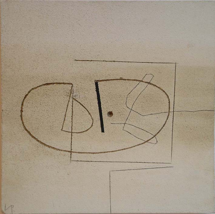 "<span class=""link fancybox-details-link""><a href=""/artists/133-victor-pasmore/works/793/"">View Detail Page</a></span><div class=""artist""><strong>Victor Pasmore</strong></div> 1908-1998 <div class=""title""><em>Linear Image</em></div> <div class=""signed_and_dated"">signed with initials  VP lower left<br /> titled & dated 1976 label verso</div> <div class=""medium"">paint and gravure on board</div> <div class=""dimensions"">79 x 79 cms (31 x 31 ins)</div>"