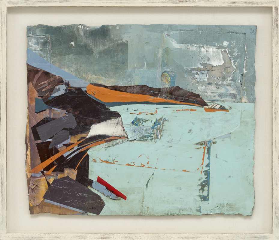 """<span class=""""link fancybox-details-link""""><a href=""""/artists/139-jeremy-gardiner/works/933/"""">View Detail Page</a></span><div class=""""artist""""><strong>Jeremy Gardiner</strong></div> Born 1957 <div class=""""title""""><em>Turquoise Sea, Arish Mell, Dorset </em></div> <div class=""""signed_and_dated"""">signed and dated 2018<br /> titled verso</div> <div class=""""medium"""">acrylic and jesmonite on poplar panel</div> <div class=""""dimensions"""">50 x 60 cms (19½ x 23½ ins)<br /> framed: 62 x 72 cms (24½ x 28½ ins)</div>"""