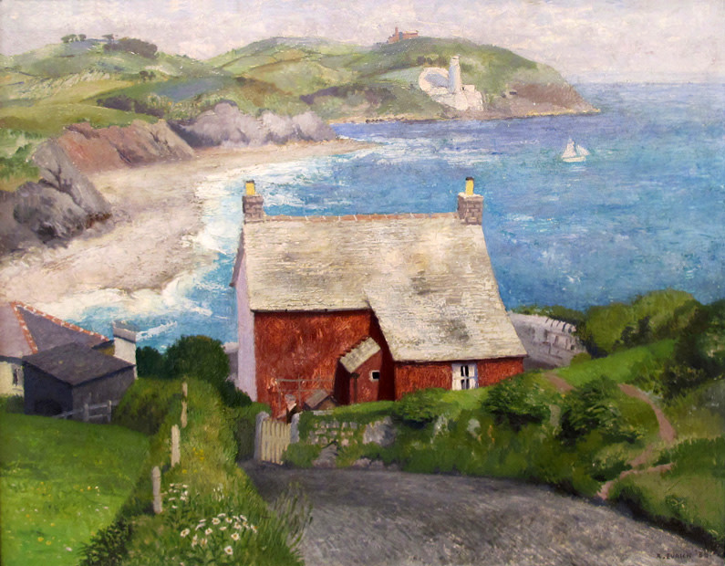 <span class=&#34;link fancybox-details-link&#34;><a href=&#34;/artists/42-richard-eurich/works/637/&#34;>View Detail Page</a></span><div class=&#34;artist&#34;><strong>Richard Eurich</strong></div> 1903-1992 <div class=&#34;title&#34;><em>St. Anthony's Head from Swanpool</em></div> <div class=&#34;signed_and_dated&#34;>signed and dated '36</div> <div class=&#34;medium&#34;>oil on panel</div> <div class=&#34;dimensions&#34;>40.5 x 51 cms (16 x 20 ins)</div>