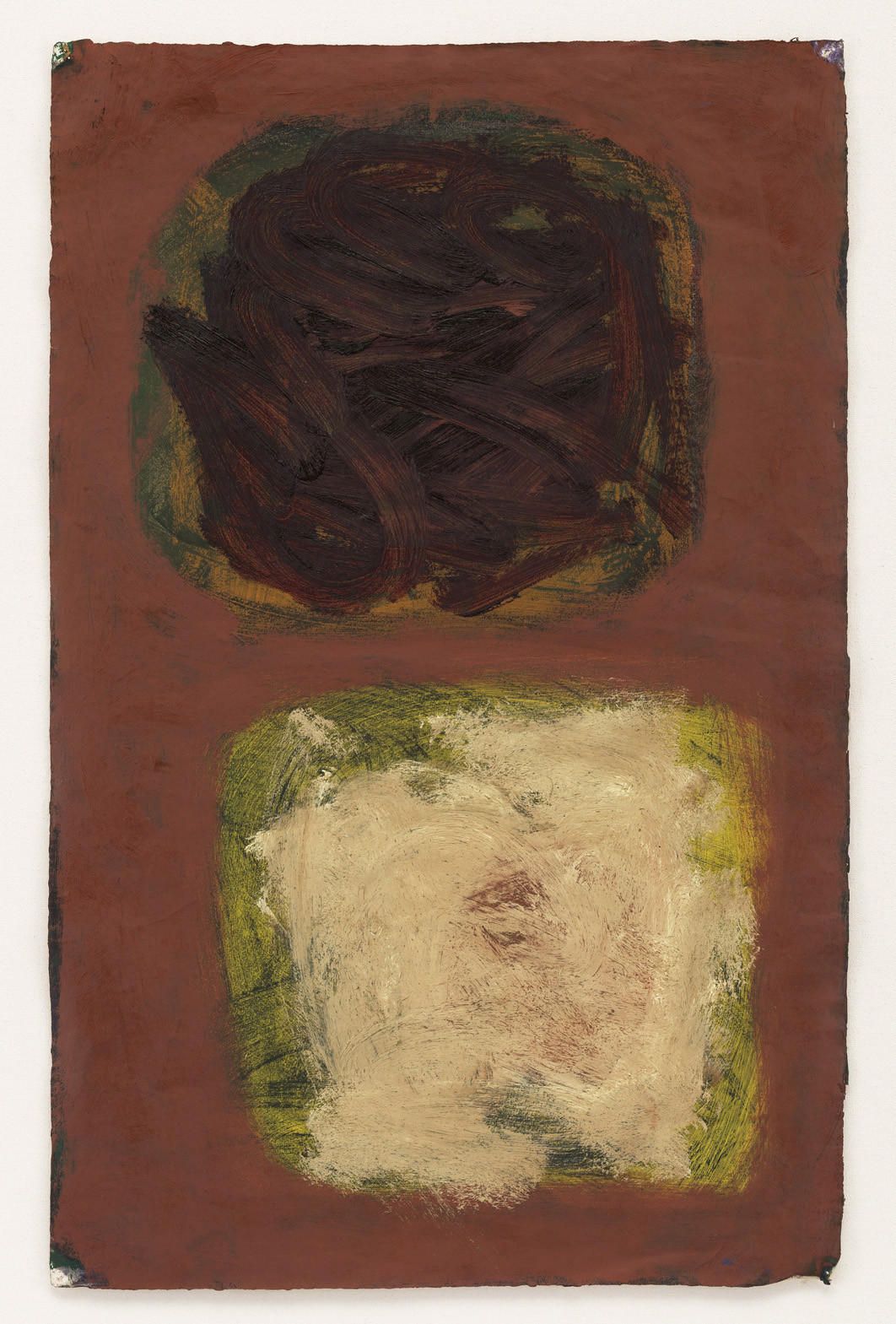 "<span class=""link fancybox-details-link""><a href=""/artists/130-patrick-heron/works/970/"">View Detail Page</a></span><div class=""artist""><strong>Patrick Heron</strong></div> 1920-1999 <div class=""title""><em>Plum and Dirty Naples</em></div> <div class=""signed_and_dated"">signed, titled and dated July 1960 verso</div> <div class=""medium"">oil on paper</div> <div class=""dimensions"">70 x 45 cms (27½ x 17¾ ins)<br /> framed: 92 x 66.5 cms (36 x 26 ins)</div>"
