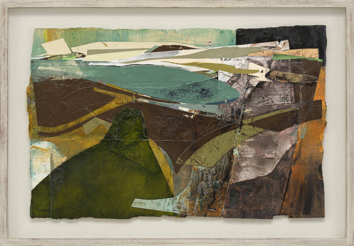 "<span class=""link fancybox-details-link""><a href=""/artists/139-jeremy-gardiner/works/939/"">View Detail Page</a></span><div class=""artist""><strong>Jeremy Gardiner</strong></div> Born 1957 <div class=""title""><em>South West Blow, Kimmeridge Bay, Dorset</em></div> <div class=""signed_and_dated"">signed and dated 2018<br /> titled verso</div> <div class=""medium"">acrylic and jesmonite on poplar panel</div> <div class=""dimensions"">45 x 70 cms (18 x 27½ ins)<br /> framed: 57 x 83 cms (22½ x 32½ ins)</div>"