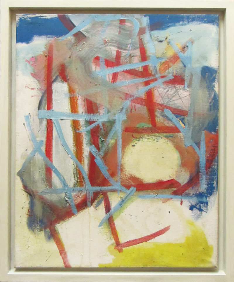 <span class=&#34;link fancybox-details-link&#34;><a href=&#34;/artists/68-gary-wragg/works/489/&#34;>View Detail Page</a></span><div class=&#34;artist&#34;><strong>Gary Wragg</strong></div> Born 1946 <div class=&#34;title&#34;><em>Blue Red Structure</em></div> <div class=&#34;signed_and_dated&#34;>signed, titled 1985 and titled verso <br /> </div> <div class=&#34;medium&#34;>oil on linen</div> <div class=&#34;dimensions&#34;>71 x 55.5 cms (28 x 22 ins) <br /> framed 79 x 63.5 cms  (31 x 25 ins)</div>