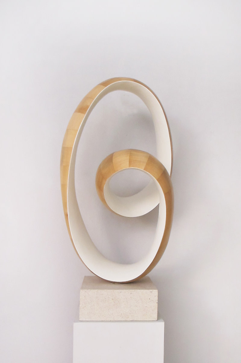 <span class=&#34;link fancybox-details-link&#34;><a href=&#34;/artists/44-richard-fox/works/582/&#34;>View Detail Page</a></span><div class=&#34;artist&#34;><strong>Richard Fox</strong></div> Born 1965 <div class=&#34;title&#34;><em>White Ravel in H V</em></div> <div class=&#34;signed_and_dated&#34;>signed and titled<br /> unique<br /> 2018  </div> <div class=&#34;medium&#34;>sycamore and white pigment on sandstone</div> <div class=&#34;dimensions&#34;>86.5 cms (34 ins) (H) </div>
