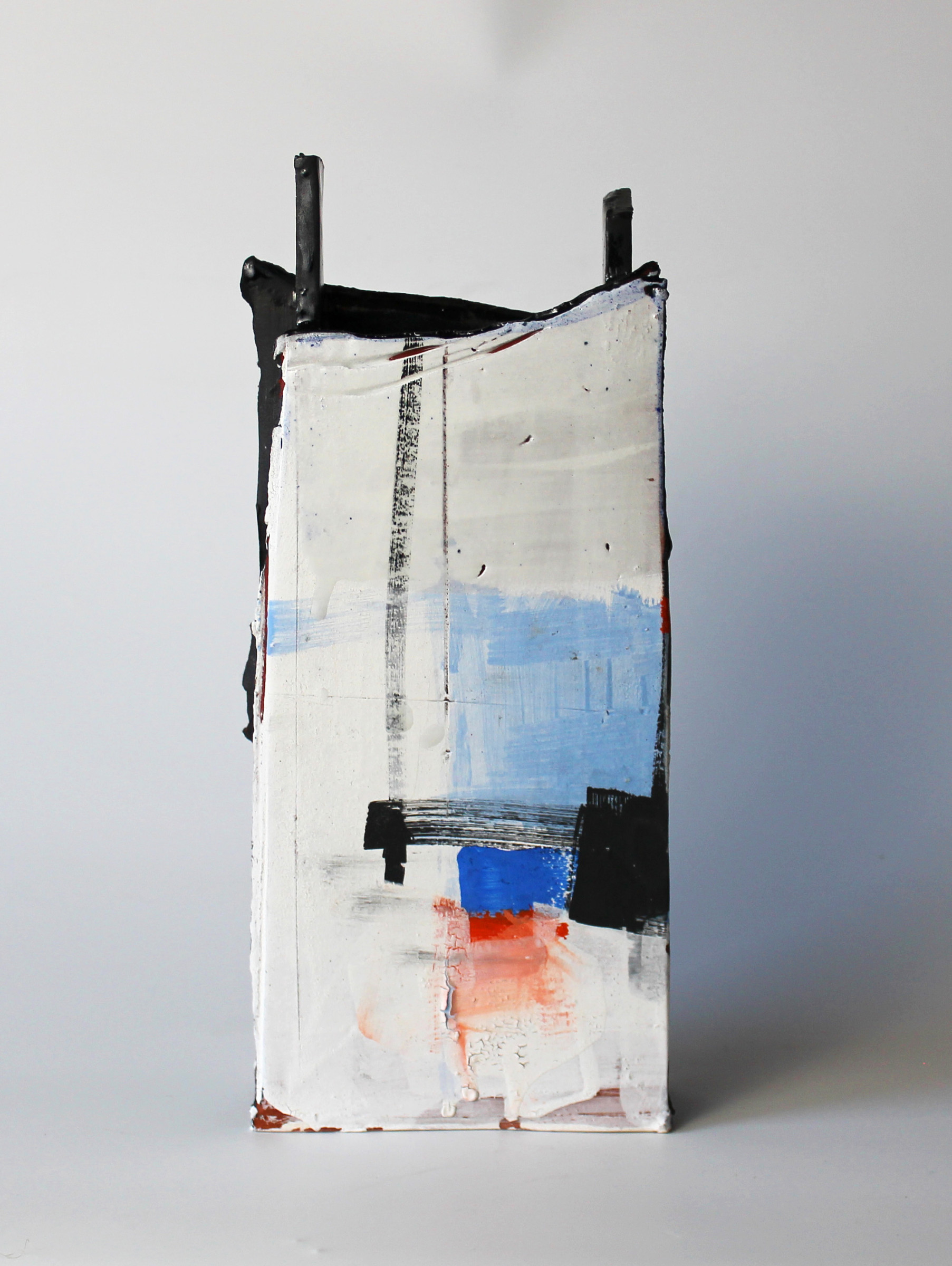"<span class=""link fancybox-details-link""><a href=""/artists/34-barry-stedman/works/4143-barry-stedman-slab-vessel-harbour-ii-series-2017/"">View Detail Page</a></span><div class=""artist""><strong>Barry Stedman</strong></div> <div class=""title""><em>Slab Vessel 'Harbour II' Series</em>, 2017</div> <div class=""signed_and_dated"">signed by artist</div> <div class=""medium"">earthenware</div> <div class=""dimensions"">33 x 14 x 5 cm<br /> 13 x 5 1/2 x 2 inches</div><div class=""copyright_line"">OwnArt: £ 35.5 x 10 Months, 0% APR</div>"