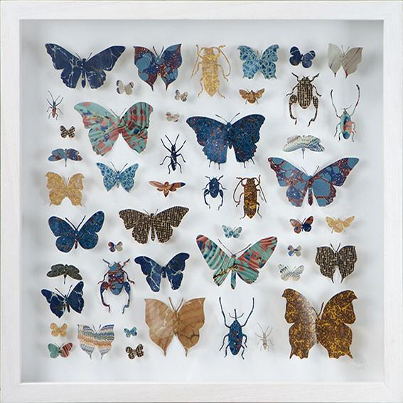 <span class=&#34;link fancybox-details-link&#34;><a href=&#34;/artists/142-helen-ward/works/3633-helen-ward-lepidoptera-5-2016/&#34;>View Detail Page</a></span><div class=&#34;artist&#34;><strong>Helen Ward</strong></div> <div class=&#34;title&#34;><em>Lepidoptera 5</em>, 2016</div> <div class=&#34;medium&#34;>hand-cut Victorian hand-marbled paper, entomolgy pins</div> <div class=&#34;dimensions&#34;>h 43 x w 43 cm</div><div class=&#34;copyright_line&#34;>Own Art: £ 58 x 10 Monthly 0% APR Representative Payments</div>