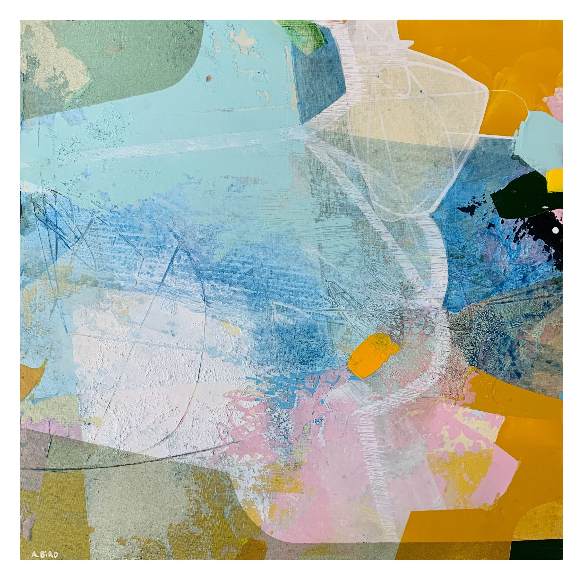 """<span class=""""link fancybox-details-link""""><a href=""""/artists/77-andrew-bird/works/7024-andrew-bird-small-cove-2020/"""">View Detail Page</a></span><div class=""""artist""""><strong>Andrew Bird</strong></div> <div class=""""title""""><em>Small Cove</em>, 2020</div> <div class=""""signed_and_dated"""">signed and titled on reverse</div> <div class=""""medium"""">acrylic on board</div> <div class=""""dimensions"""">h. 32 x w. 32 cm</div><div class=""""price"""">£925.00</div><div class=""""copyright_line"""">Ownart: £92.50 x 10 Months, 0% APR</div>"""