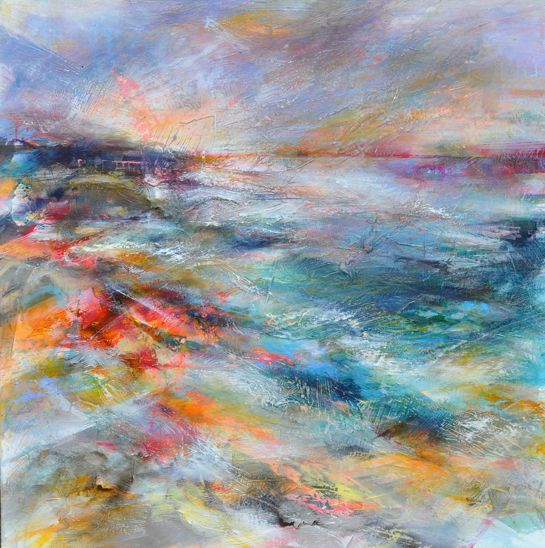 """<span class=""""link fancybox-details-link""""><a href=""""/artists/90-freya-horsley/works/6256-freya-horsley-looking-for-time-2019/"""">View Detail Page</a></span><div class=""""artist""""><strong>Freya Horsley</strong></div> <div class=""""title""""><em>Looking for Time</em>, 2019</div> <div class=""""signed_and_dated"""">Signed</div> <div class=""""medium"""">Mixed media on canvas</div> <div class=""""dimensions"""">100 x 100 cm</div><div class=""""copyright_line"""">Own Art £200 x 10 months, 0% APR</div>"""