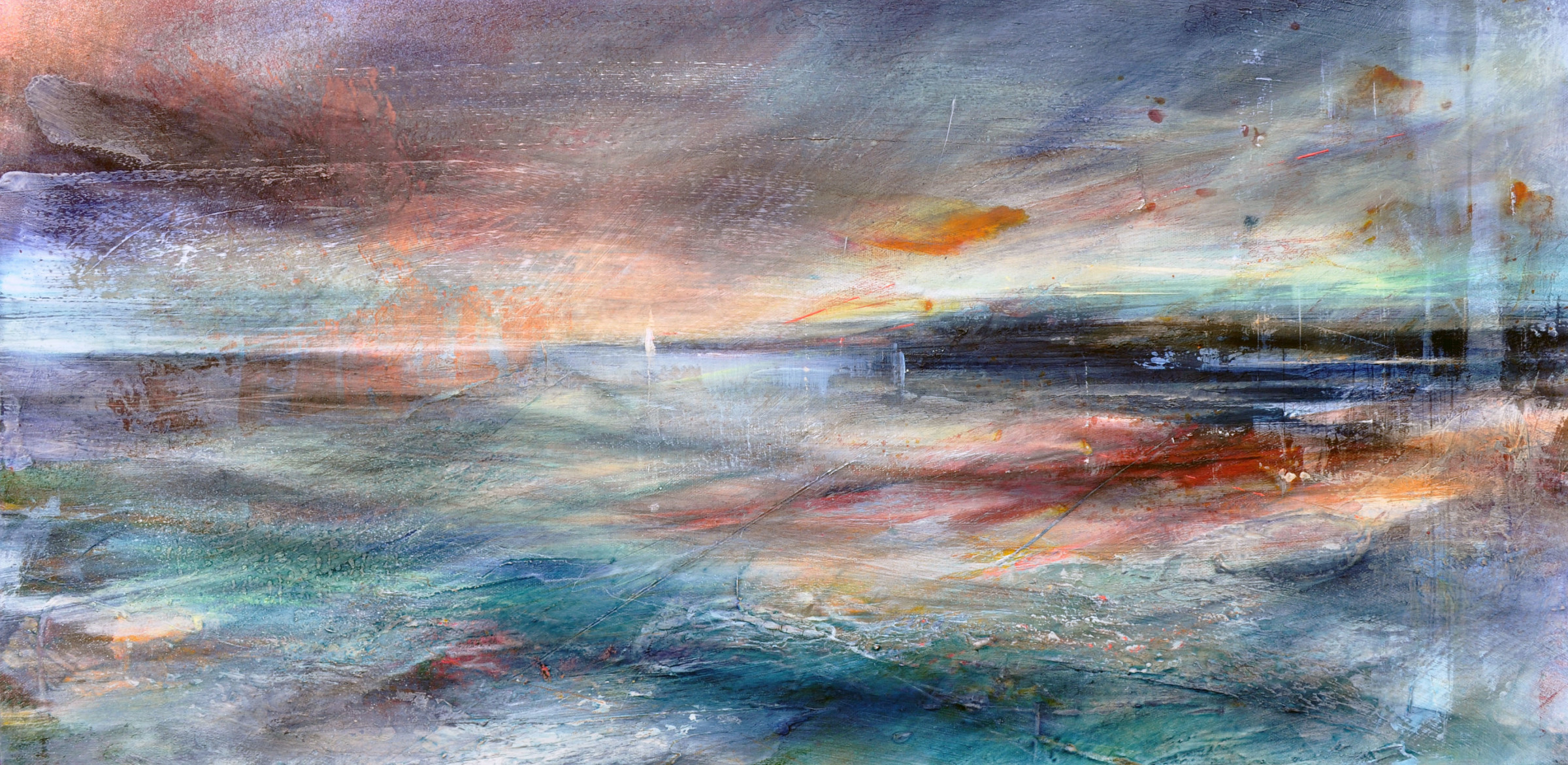 <span class=&#34;link fancybox-details-link&#34;><a href=&#34;/artists/90-freya-horsley/works/5540-freya-horsley-turning-to-go-2018/&#34;>View Detail Page</a></span><div class=&#34;artist&#34;><strong>Freya Horsley</strong></div> <div class=&#34;title&#34;><em>Turning to Go </em>, 2018</div> <div class=&#34;signed_and_dated&#34;>signed on the reverse</div> <div class=&#34;medium&#34;>mixed media on canvas</div> <div class=&#34;dimensions&#34;>40 x 80 cm<br /> 15 3/4 x 31 1/2 inches</div><div class=&#34;price&#34;>£950.00</div><div class=&#34;copyright_line&#34;>£ 95 x 10 Months, OwnArt 0% APR</div>