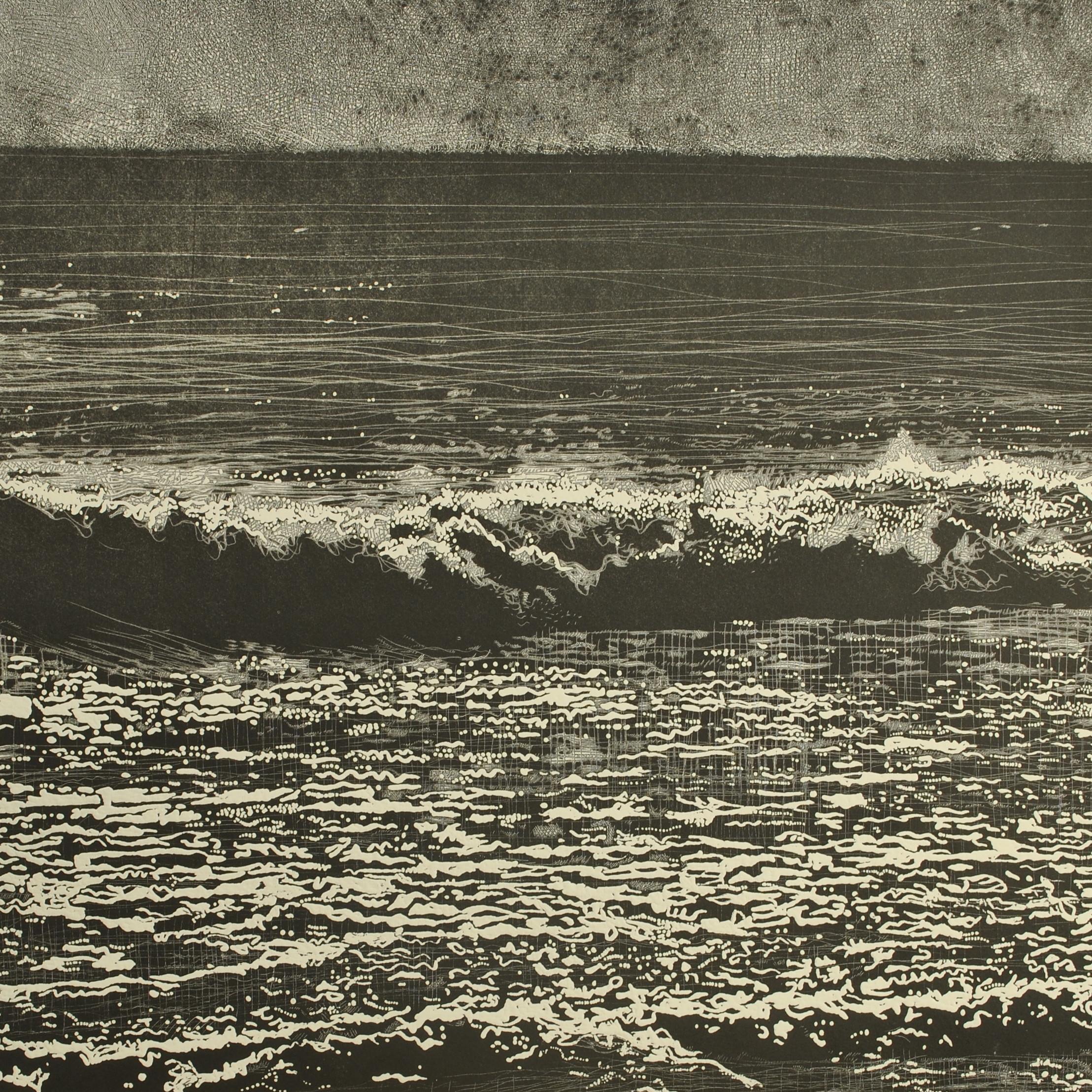 "<span class=""link fancybox-details-link""><a href=""/artists/237-trevor-price/works/6814-trevor-price-storm-waves-v/"">View Detail Page</a></span><div class=""artist""><strong>Trevor Price</strong></div> b. 1966 <div class=""title""><em>Storm Waves V</em></div> <div class=""medium"">Drypoint and engraved relief print</div> <div class=""dimensions"">image size 35.5 x3 5.5cm, frame size 39.5x39.5cm</div> <div class=""edition_details"">Edition of 100 plus 1 artist's proof</div><div class=""price"">£200.00</div><div class=""copyright_line"">Copyright The Artist</div>"