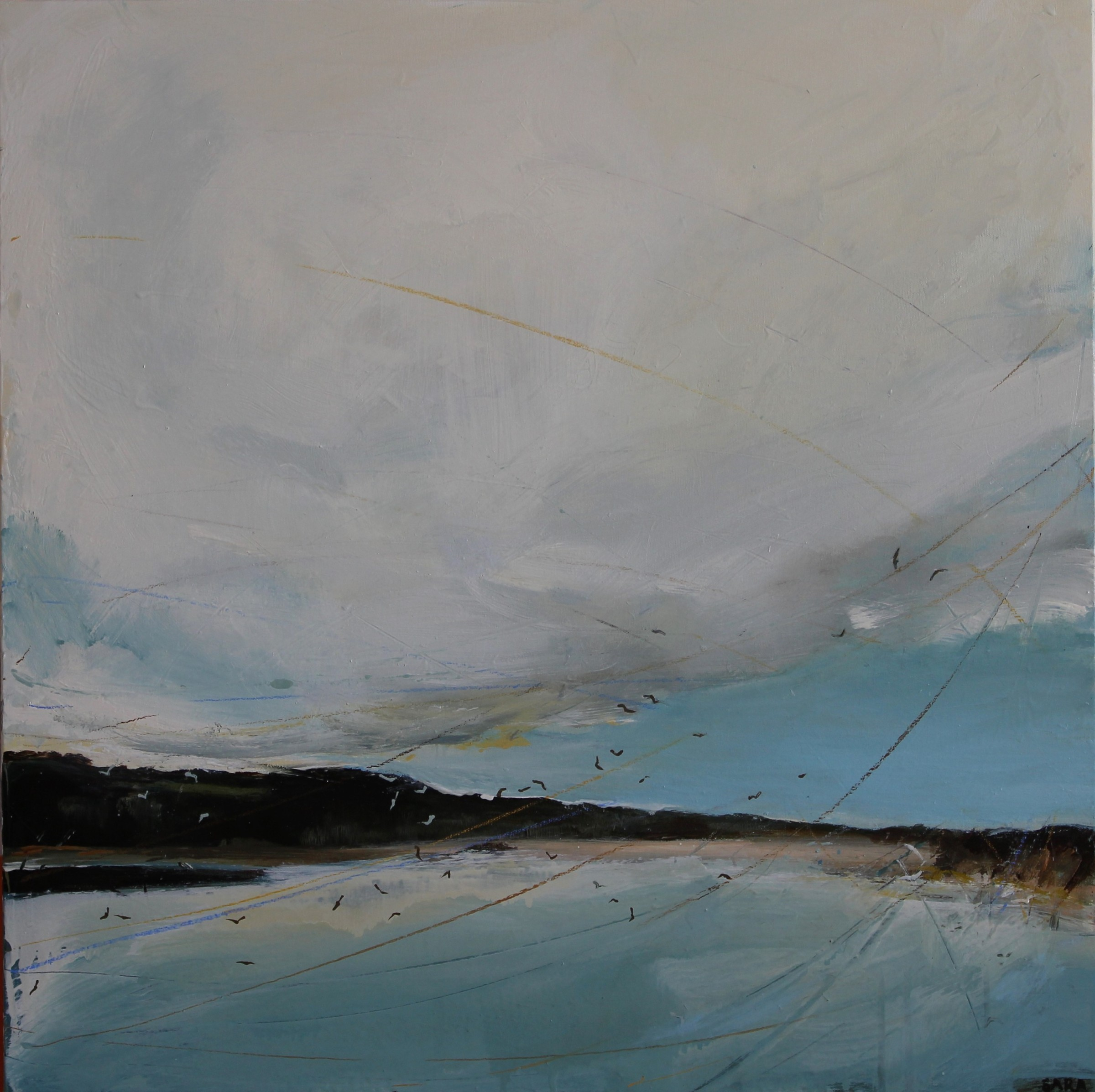 "<span class=""link fancybox-details-link""><a href=""/artists/159-sara-dudman-rwa/works/6557-sara-dudman-rwa-black-backed-gulls-old-town-st-mary-s-2019/"">View Detail Page</a></span><div class=""artist""><strong>Sara Dudman RWA</strong></div> <div class=""title""><em>Black Backed Gulls (Old Town, St Mary's)</em>, 2019</div> <div class=""medium"">Oil on canvas</div> <div class=""dimensions"">h. 81 x w. 81 cm</div><div class=""price"">£1,300.00</div><div class=""copyright_line"">Ownart: £130 x 10 Months, 0 % APR</div>"