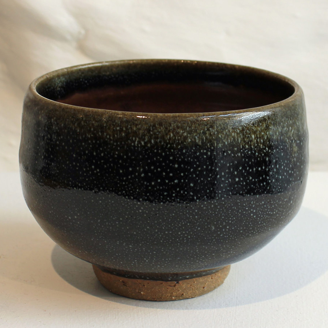 "<span class=""link fancybox-details-link""><a href=""/artists/200-matthew-tyas/works/5451-matthew-tyas-starling-chawan-bowl-2018/"">View Detail Page</a></span><div class=""artist""><strong>Matthew Tyas</strong></div> <div class=""title""><em>Starling Chawan Bowl</em>, 2018</div> <div class=""signed_and_dated"">stamped by the artist</div> <div class=""medium"">glazed thrown stoneware</div><div class=""copyright_line"">Copyright The Artist</div>"