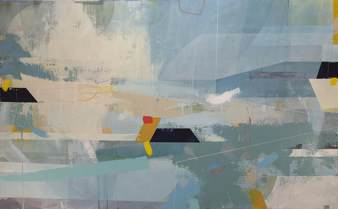 <span class=&#34;link fancybox-details-link&#34;><a href=&#34;/artists/77-andrew-bird/works/6208-andrew-bird-wanderlust-2019/&#34;>View Detail Page</a></span><div class=&#34;artist&#34;><strong>Andrew Bird</strong></div> <div class=&#34;title&#34;><em>Wanderlust</em>, 2019</div> <div class=&#34;signed_and_dated&#34;>signed, titled and dated on reverse</div> <div class=&#34;medium&#34;>acrylic on canvas</div> <div class=&#34;dimensions&#34;>h 76 x w 122 cm<br /> 29 7/8 x 48 1/8 in</div><div class=&#34;price&#34;>£3,200.00</div><div class=&#34;copyright_line&#34;>Own Art: £ 250 x 10 Months, 0% APR + £700</div>