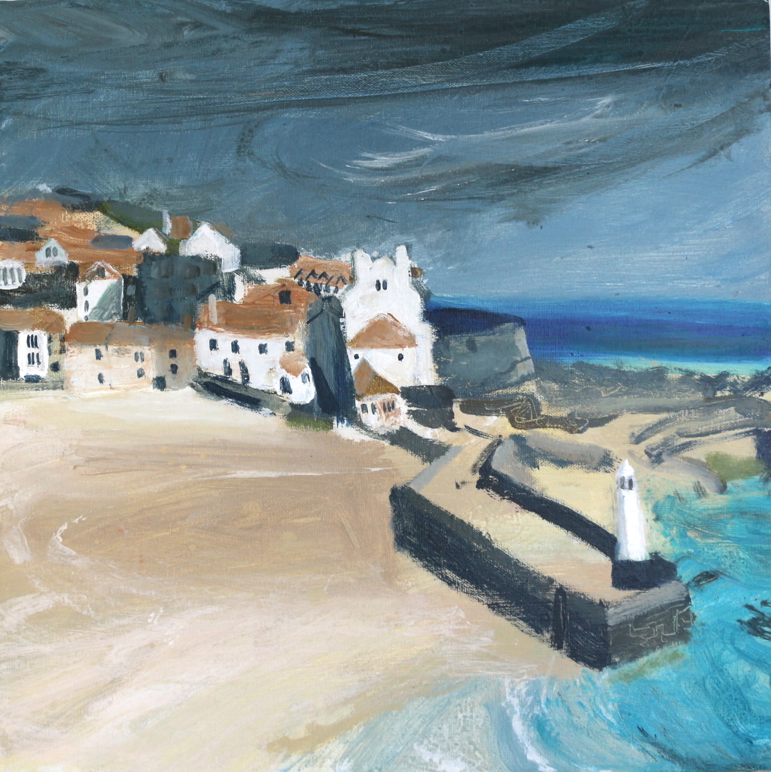 <span class=&#34;link fancybox-details-link&#34;><a href=&#34;/artists/177-jane-askey/works/5513-jane-askey-smeatons-pier-turquoise-sea-2018/&#34;>View Detail Page</a></span><div class=&#34;artist&#34;><strong>Jane Askey</strong></div> <div class=&#34;title&#34;><em>Smeatons Pier Turquoise Sea</em>, 2018</div> <div class=&#34;signed_and_dated&#34;>signed</div> <div class=&#34;medium&#34;>mixed media on canvas</div> <div class=&#34;dimensions&#34;>44 x 44 cm<br /> 17 3/8 x 17 3/8 inches</div><div class=&#34;copyright_line&#34;>OwnArt: £ 66 x 10 Months, 0% APR</div>