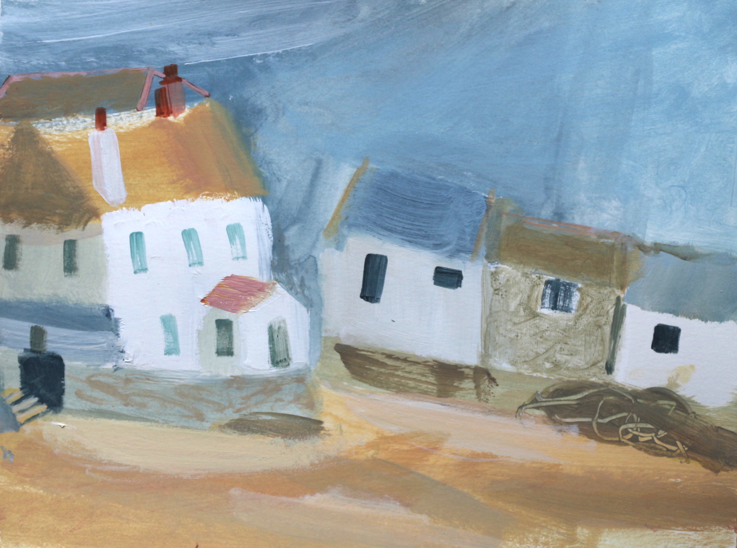 <span class=&#34;link fancybox-details-link&#34;><a href=&#34;/artists/177-jane-askey/works/5518-jane-askey-st-ives-harbour-beach-houses-2018/&#34;>View Detail Page</a></span><div class=&#34;artist&#34;><strong>Jane Askey</strong></div> <div class=&#34;title&#34;><em>St Ives Harbour Beach Houses</em>, 2018</div> <div class=&#34;signed_and_dated&#34;>signed</div> <div class=&#34;medium&#34;>mixed media on paper</div> <div class=&#34;dimensions&#34;>38 x 45 cm<br /> 15 x 17 3/4 inches</div><div class=&#34;copyright_line&#34;>OwnArt: £ 40 x 10 Months, 0% APR</div>
