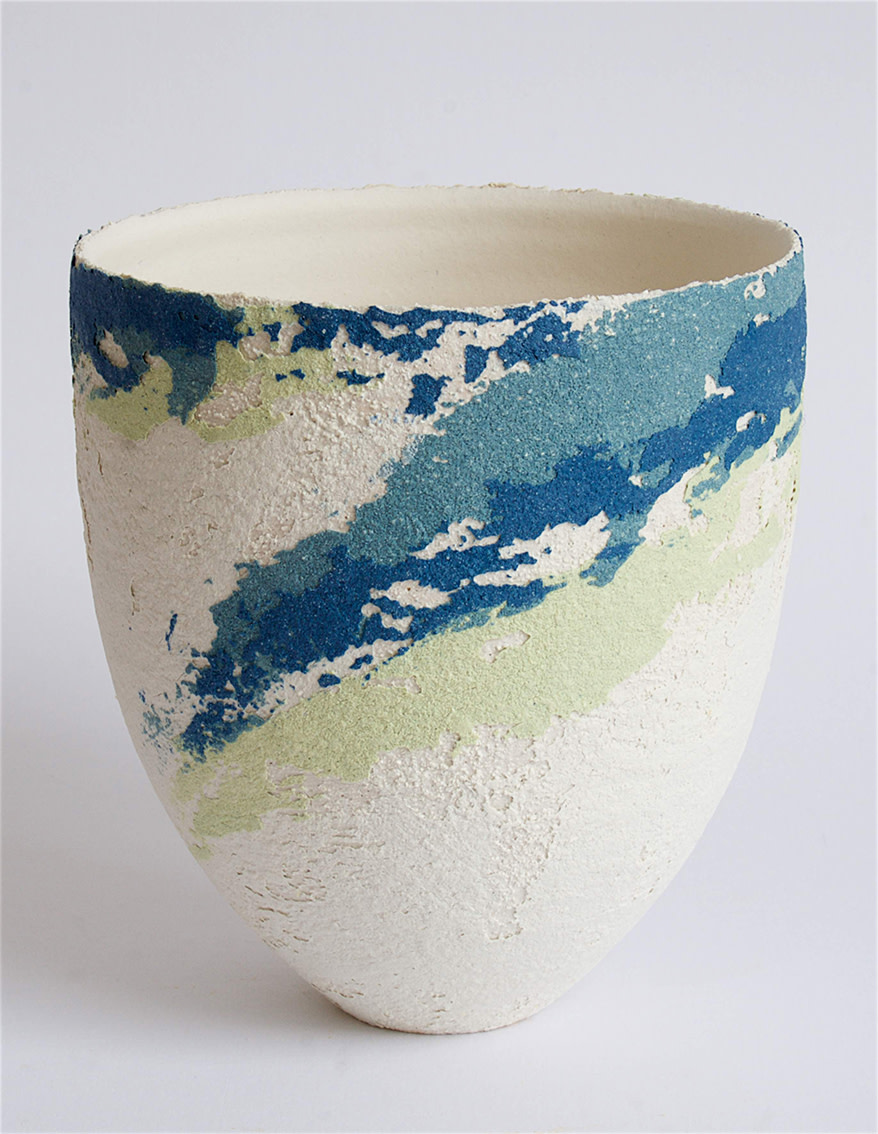 "<span class=""link fancybox-details-link""><a href=""/artists/79-clare-conrad/works/5411-clare-conrad-vessel-2018/"">View Detail Page</a></span><div class=""artist""><strong>Clare Conrad</strong></div> <div class=""title""><em>Vessel</em>, 2018</div> <div class=""medium"">wheel-thrown stoneware with vitreous slip & satin-matt glaze</div> <div class=""dimensions"">h. 13.5cm</div><div class=""copyright_line"">OwnArt: £ 16 x 10 Months, 0% APR</div>"