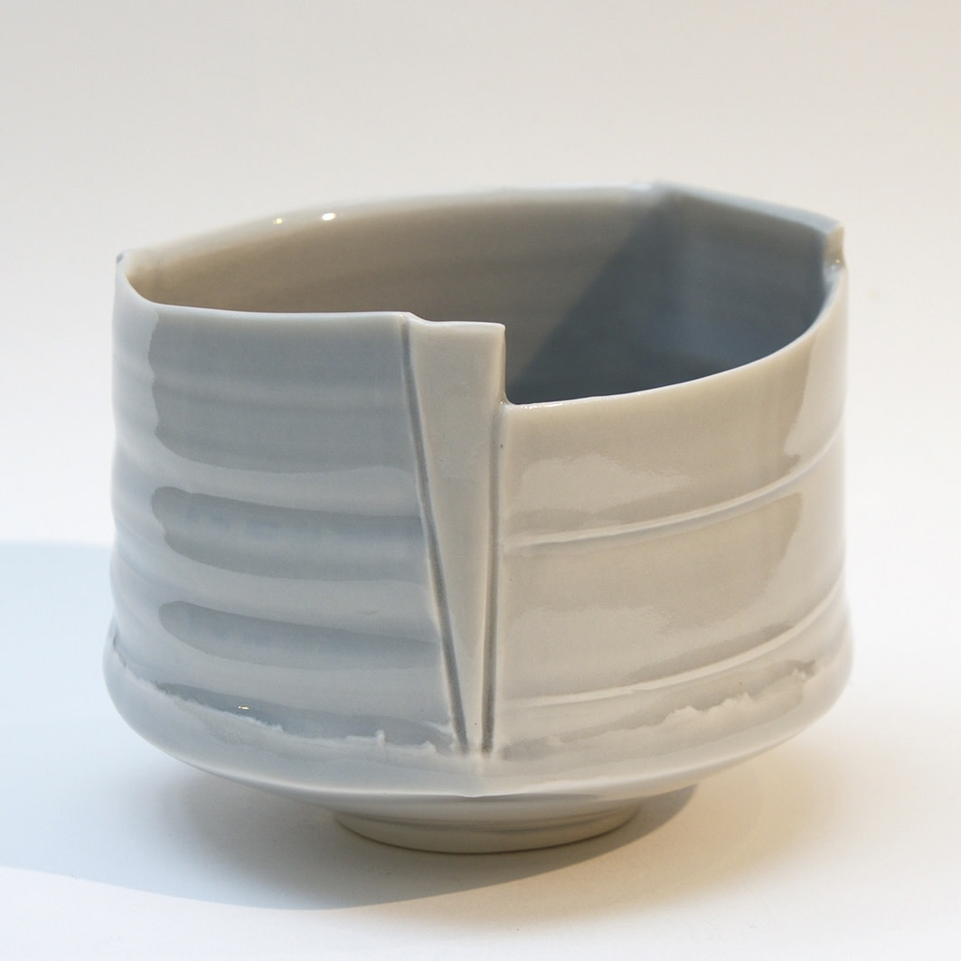 "<span class=""link fancybox-details-link""><a href=""/artists/99-carina-ciscato/works/128-carina-ciscato-pale-blue-grey-tea-bowl-2012/"">View Detail Page</a></span><div class=""artist""><strong>Carina Ciscato</strong></div> <div class=""title""><em>Pale Blue-Grey Tea Bowl</em>, 2012</div> <div class=""signed_and_dated"">Carina Ciscato</div> <div class=""medium"">handbuilt glazed porcelain</div> <div class=""dimensions"">height 11 cm<br />height 4 3/8 inches</div><div class=""copyright_line"">£ 22 x 10 Months, OwnArt 0% APR</div>"