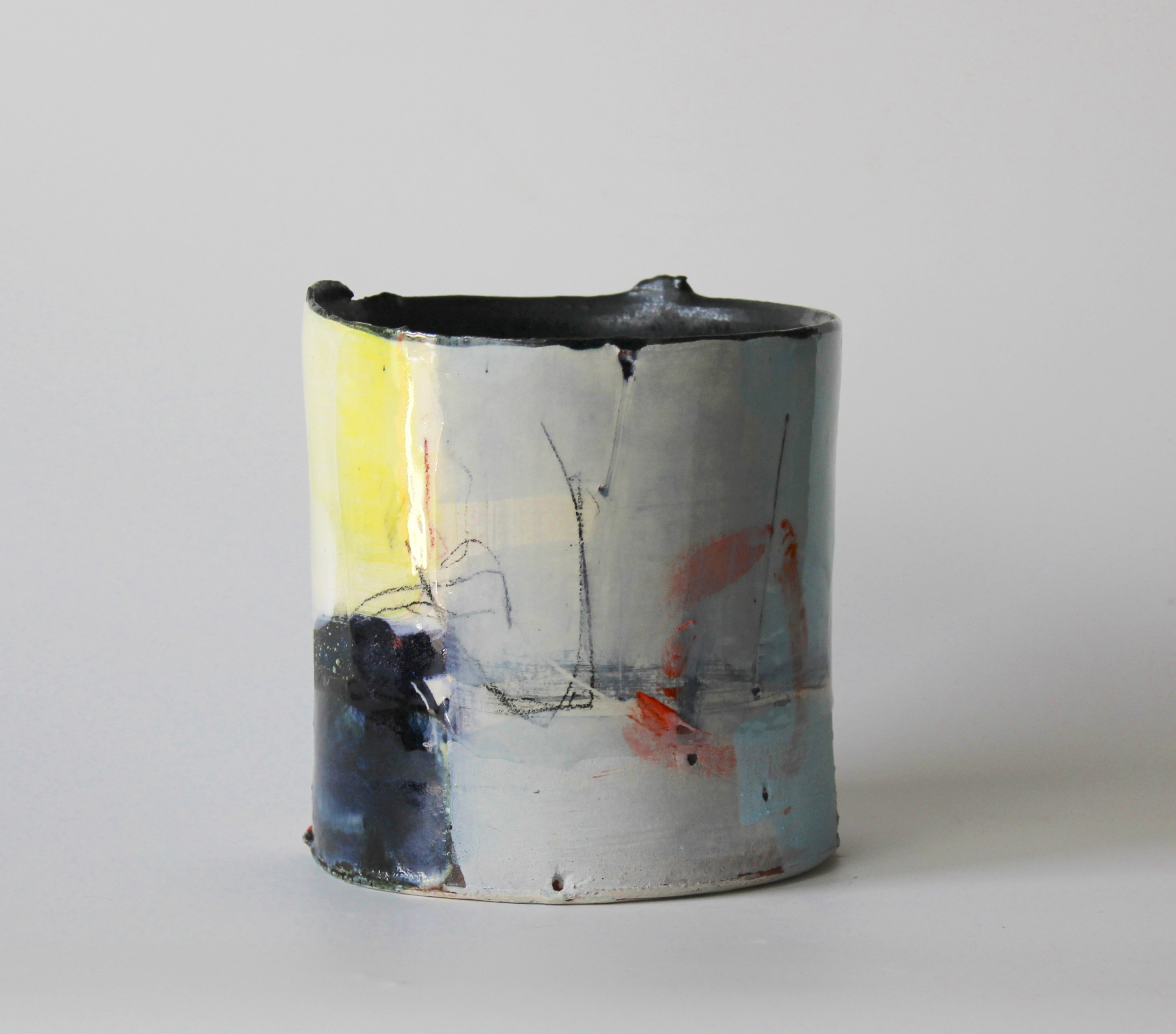"<span class=""link fancybox-details-link""><a href=""/artists/34-barry-stedman/works/4157-barry-stedman-thrown-vessel-harbour-series-2017/"">View Detail Page</a></span><div class=""artist""><strong>Barry Stedman</strong></div> <div class=""title""><em>Thrown Vessel 'Harbour' Series</em>, 2017</div> <div class=""signed_and_dated"">signed by artist</div> <div class=""medium"">earthenware</div> <div class=""dimensions"">14 x 14 cm<br /> 5 1/2 x 5 1/2 inches</div><div class=""copyright_line"">OwnArt: £ 30 x 10 Months, 0% APR</div>"
