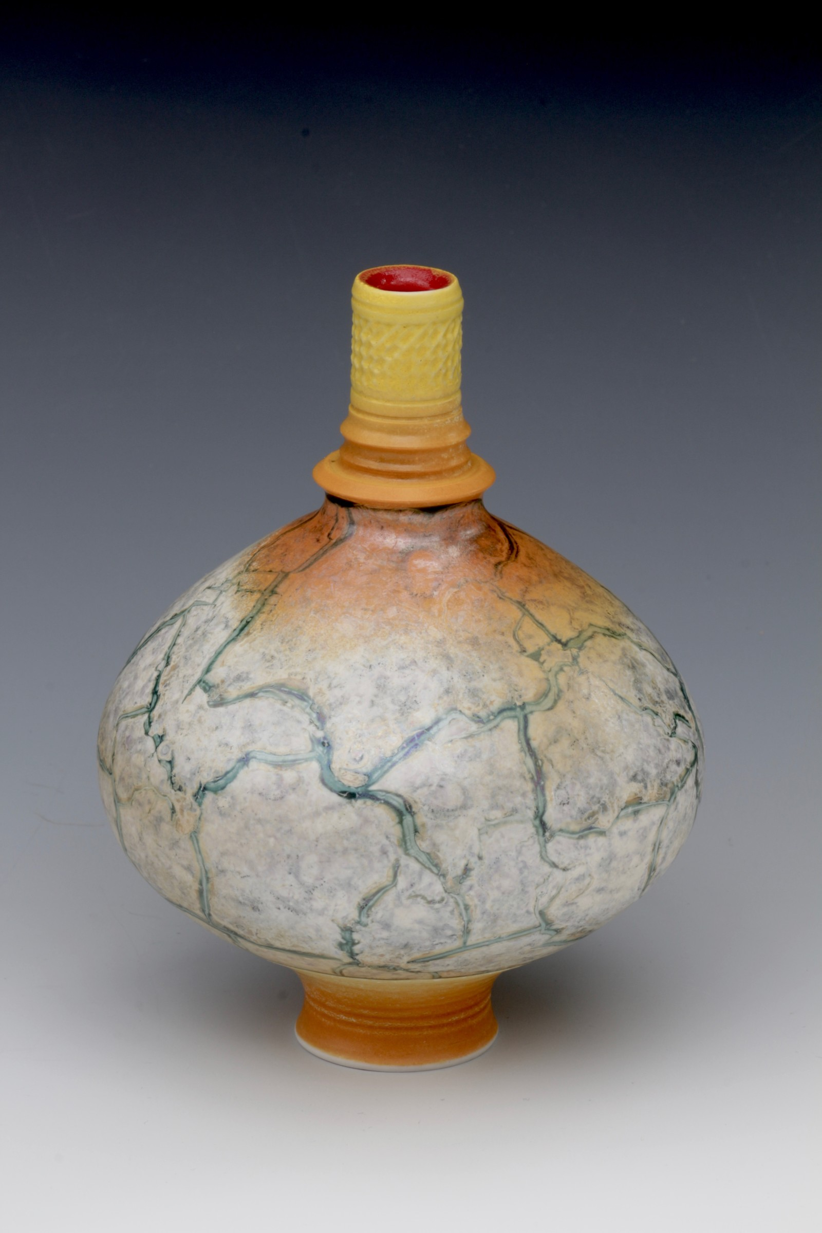 "<span class=""link fancybox-details-link""><a href=""/artists/61-geoffrey-swindell/works/6330-geoffrey-swindell-bud-vase-2019/"">View Detail Page</a></span><div class=""artist""><strong>Geoffrey Swindell</strong></div> <div class=""title""><em>Bud Vase</em>, 2019</div> <div class=""signed_and_dated"">Stamped on the bottom</div> <div class=""medium"">Porcelain</div><div class=""copyright_line"">Own Art: £16 x 10 Months 0% APR</div>"