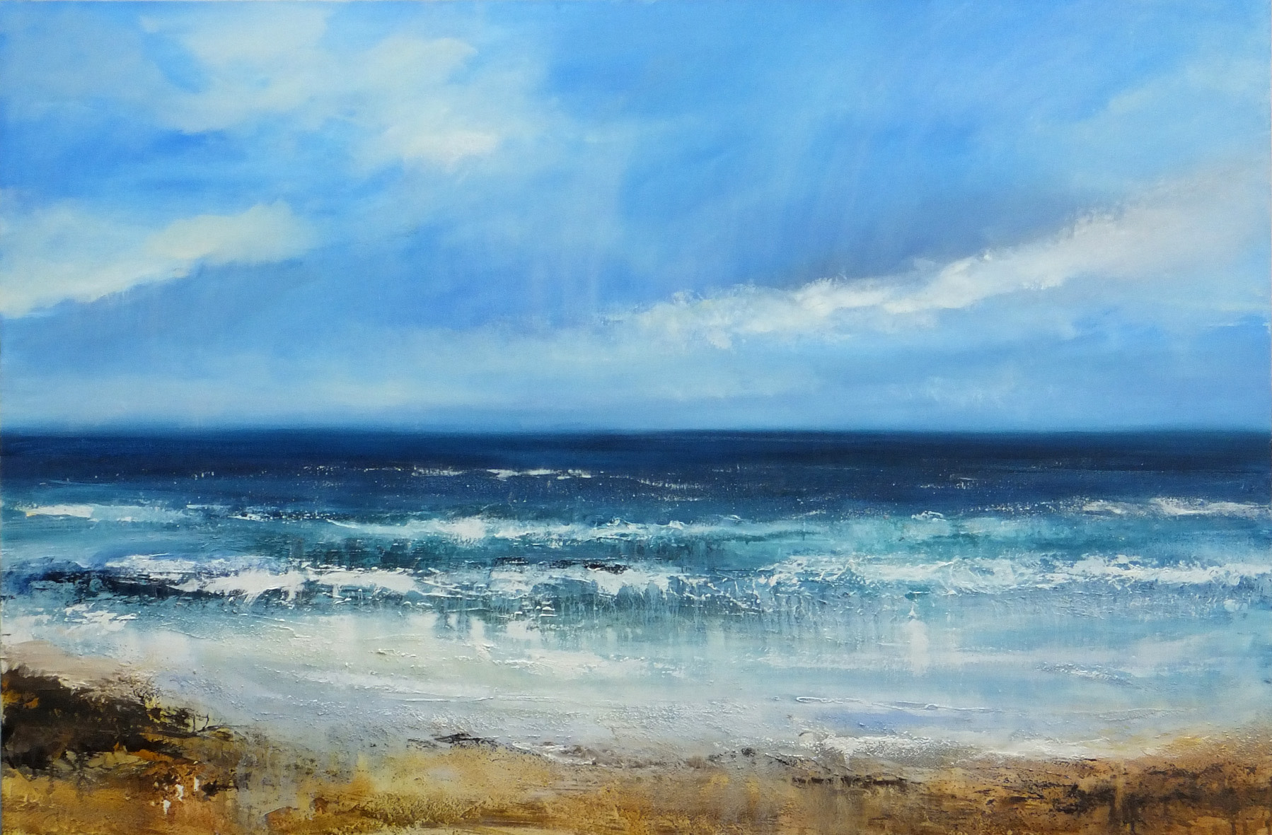 <span class=&#34;link fancybox-details-link&#34;><a href=&#34;/artists/66-joanne-last/works/5549-joanne-last-walking-from-chapel-porth-2018/&#34;>View Detail Page</a></span><div class=&#34;artist&#34;><strong>Joanne Last</strong></div> <div class=&#34;title&#34;><em>Walking from Chapel Porth</em>, 2018</div> <div class=&#34;signed_and_dated&#34;>signed by the artist</div> <div class=&#34;medium&#34;> oil on canvas</div> <div class=&#34;dimensions&#34;>100 x 150 cm<br /> 39 3/8 x 59 1/8 inches</div><div class=&#34;copyright_line&#34;>£ 290 x 10 Months, OwnArt 0% APR</div>