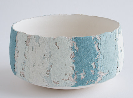 "<span class=""link fancybox-details-link""><a href=""/artists/79-clare-conrad/works/6427-clare-conrad-small-bowl-2019/"">View Detail Page</a></span><div class=""artist""><strong>Clare Conrad</strong></div> <div class=""title""><em>Small Bowl</em>, 2019</div> <div class=""medium"">Wheel-thrown stoneware with vitreous slip & satin-matt glaze.<br /> Aqua Stripes</div> <div class=""dimensions"">height 6 cm<br /> </div><div class=""price"">£110.00</div><div class=""copyright_line"">OwnArt: £ 11 x 10 Months, 0% APR</div>"