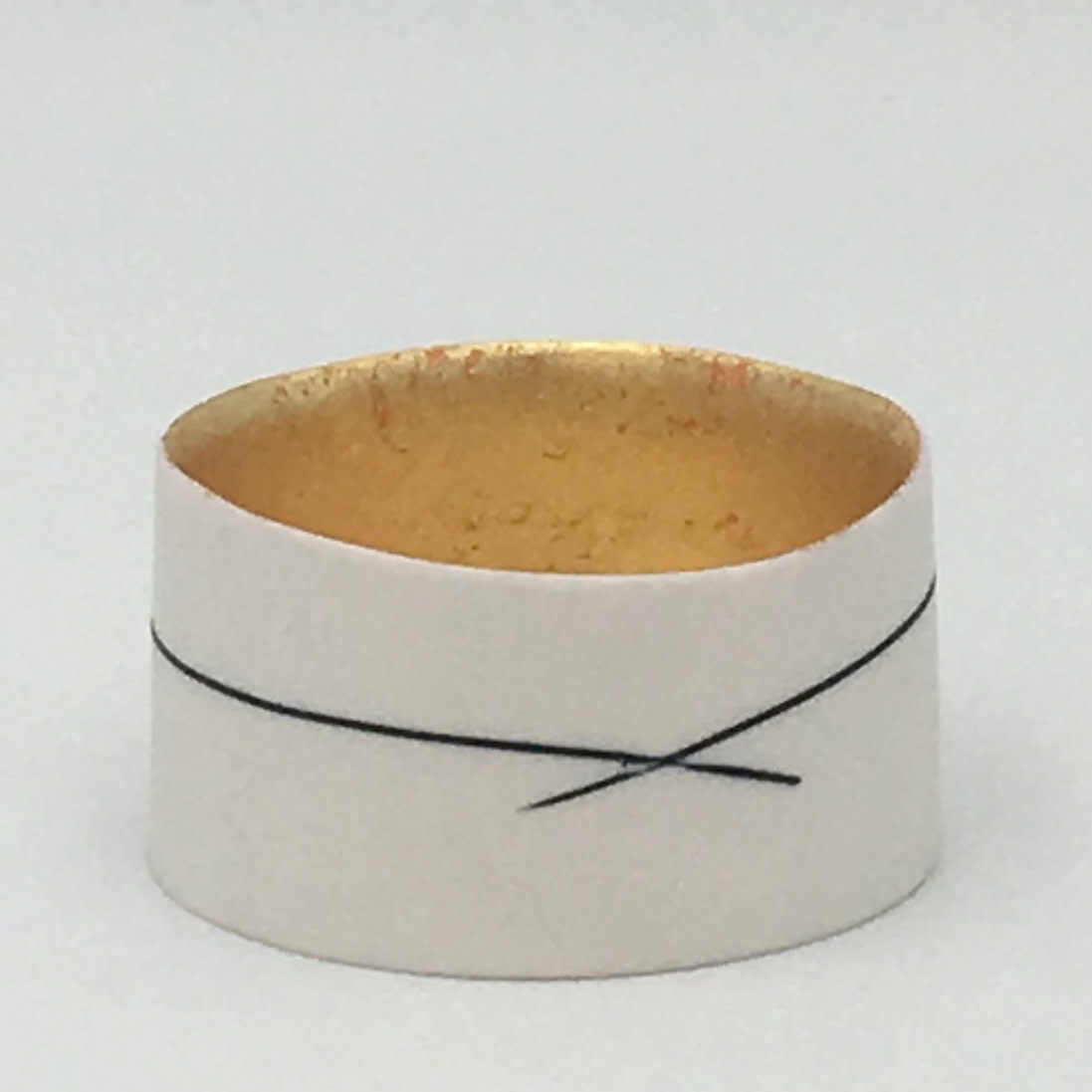 "<span class=""link fancybox-details-link""><a href=""/artists/195-lara-scobie/works/6519-lara-scobie-small-23ct-gold-bowl-2019/"">View Detail Page</a></span><div class=""artist""><strong>Lara Scobie</strong></div> <div class=""title""><em>Small 23ct Gold Bowl</em>, 2019</div> <div class=""medium"">Porcelain</div>"