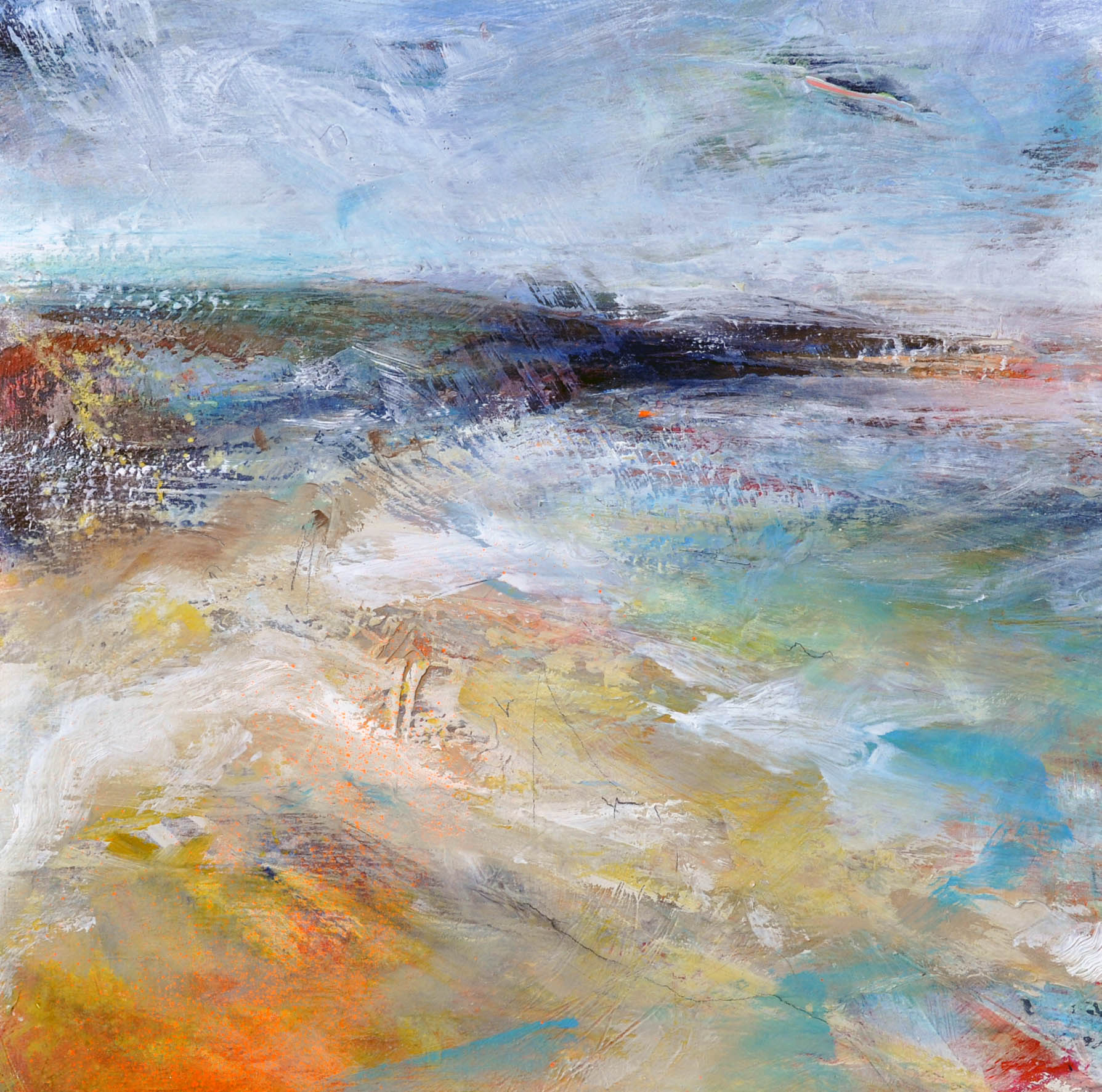 "<span class=""link fancybox-details-link""><a href=""/artists/90-freya-horsley/works/7036-freya-horsley-strand-2020/"">View Detail Page</a></span><div class=""artist""><strong>Freya Horsley</strong></div> <div class=""title""><em>Strand</em>, 2020 </div> <div class=""medium"">mixed media on board</div> <div class=""dimensions"">h. 40 x w. 40 cm </div><div class=""copyright_line"">Ownart: £65 x 10 Months, 0% APR</div>"