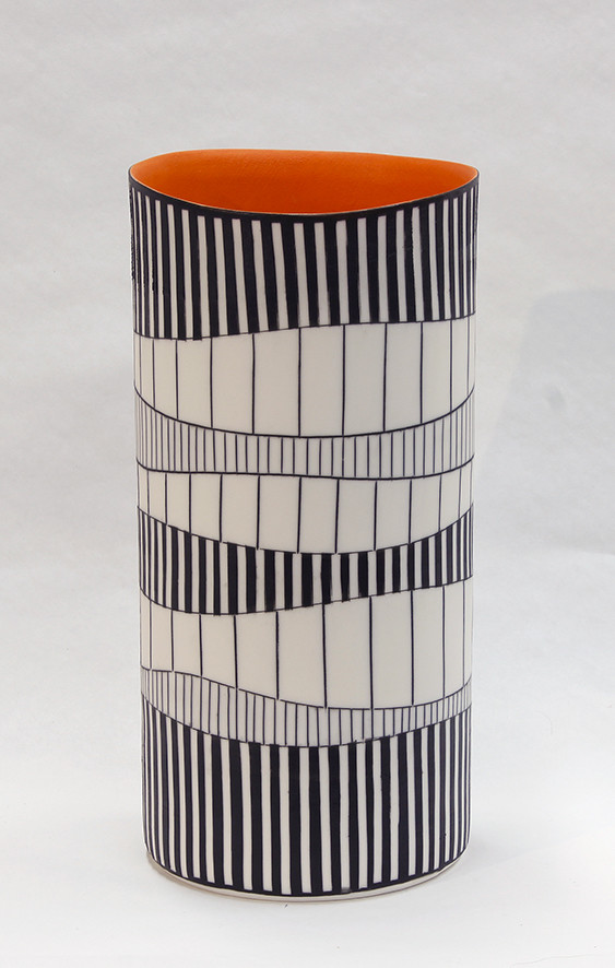 "<span class=""link fancybox-details-link""><a href=""/artists/195-lara-scobie/works/5161-lara-scobie-tall-cylinder-vase-i-2018/"">View Detail Page</a></span><div class=""artist""><strong>Lara Scobie</strong></div> <div class=""title""><em>Tall Cylinder Vase I</em>, 2018</div> <div class=""dimensions"">22 x 11 cm<br /> 8 5/8 x 4 3/8 inches</div><div class=""copyright_line"">OwnArt: £ 30 x 10 Months, 0% APR</div>"