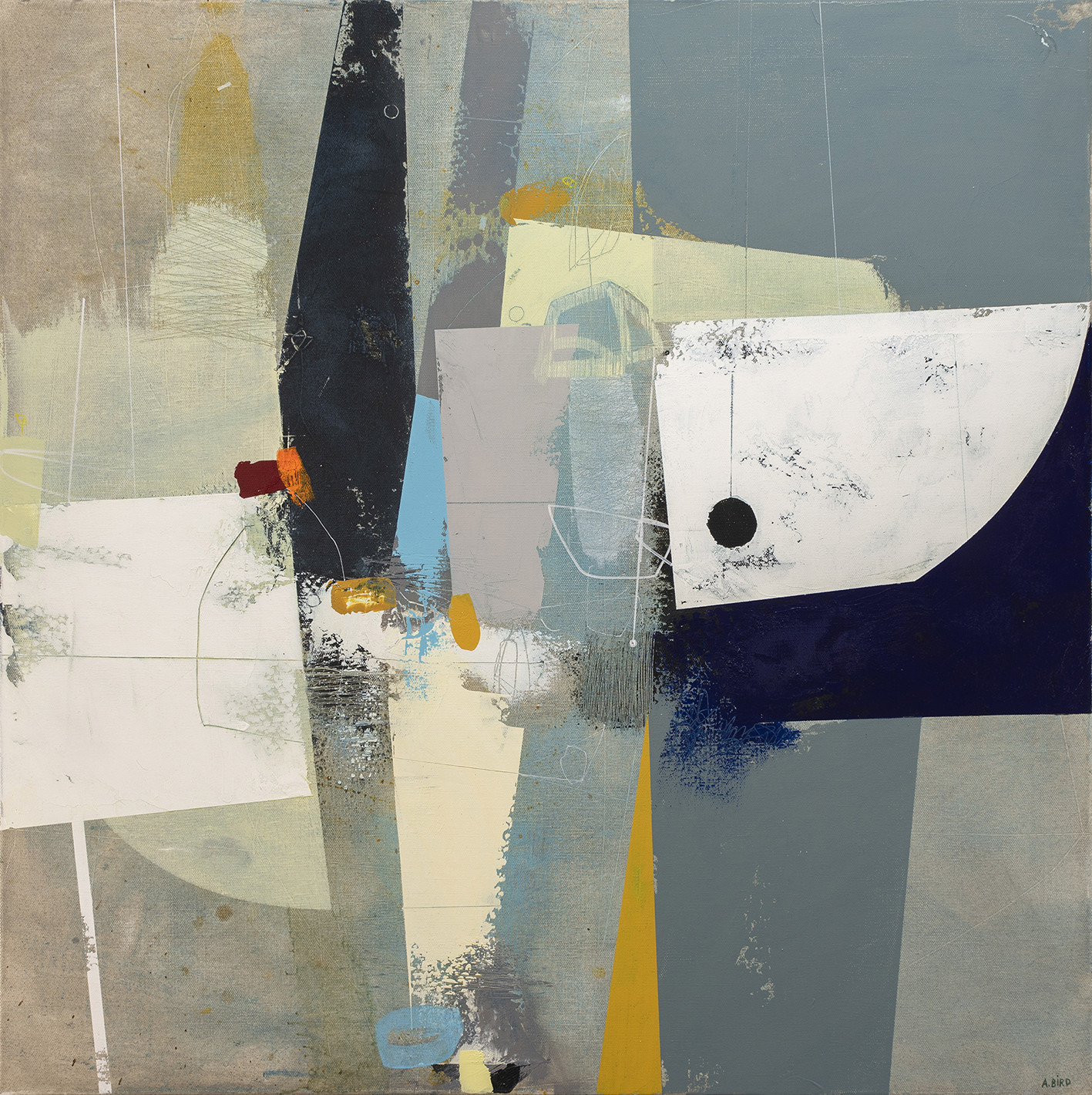<span class=&#34;link fancybox-details-link&#34;><a href=&#34;/artists/77-andrew-bird/works/6206-andrew-bird-tall-tale-2019/&#34;>View Detail Page</a></span><div class=&#34;artist&#34;><strong>Andrew Bird</strong></div> <div class=&#34;title&#34;><em>Tall Tale</em>, 2019</div> <div class=&#34;signed_and_dated&#34;>signed, titled and dated on reverse</div> <div class=&#34;medium&#34;>acrylic on canvas</div> <div class=&#34;dimensions&#34;>h 76 x w 76 cm<br /> 29 7/8 x 29 7/8 in</div><div class=&#34;price&#34;>£2,500.00</div><div class=&#34;copyright_line&#34;>Own Art: £ 250 x 10 Months, 0% APR</div>