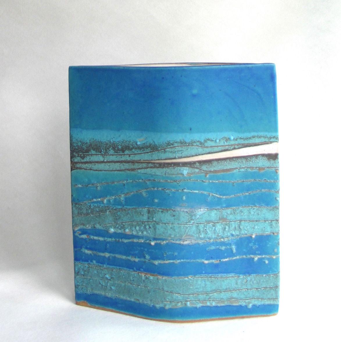"<span class=""link fancybox-details-link""><a href=""/artists/44-sarah-perry/works/6469-sarah-perry-blue-water-ellipse-2019/"">View Detail Page</a></span><div class=""artist""><strong>Sarah Perry</strong></div> <div class=""title""><em>Blue Water Ellipse</em>, 2019</div> <div class=""medium"">stoneware</div> <div class=""dimensions"">h. 29 cm x w. 24 cm</div><div class=""copyright_line"">Ownart: £33 x 10 Months, 0% APR</div>"