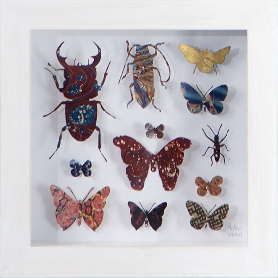 "<span class=""link fancybox-details-link""><a href=""/artists/142-helen-ward/works/3638-helen-ward-lepidoptera-10-2016/"">View Detail Page</a></span><div class=""artist""><strong>Helen Ward</strong></div> <div class=""title""><em>Lepidoptera 10</em>, 2016</div> <div class=""medium"">hand-cut Victorian hand-marbled papers, enamel pins</div> <div class=""dimensions"">h 19 x w 19 cm</div><div class=""price"">£210.00</div><div class=""copyright_line"">Own Art: £ 21 x 10 Monthly 0% APR Representative Payments</div>"
