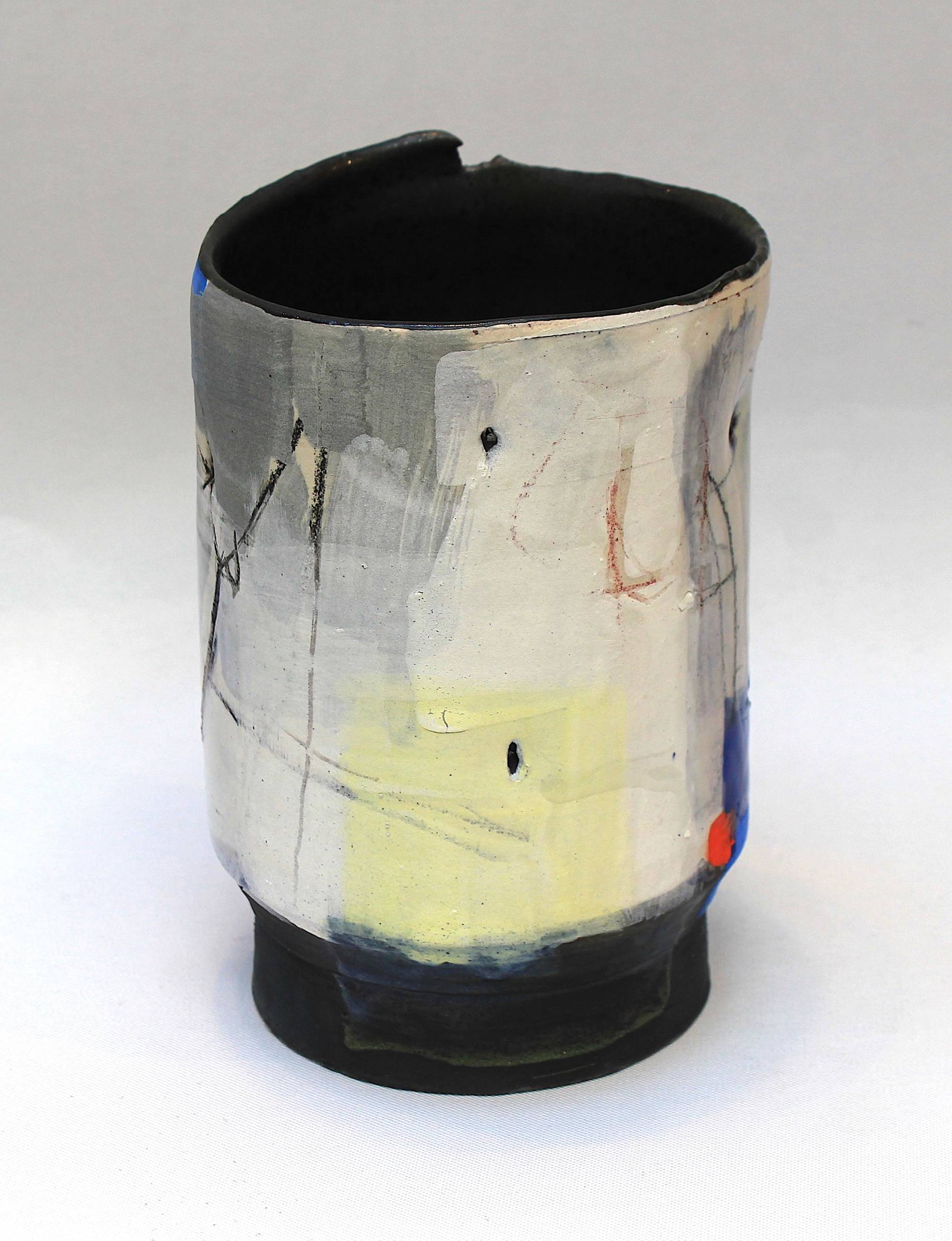 "<span class=""link fancybox-details-link""><a href=""/artists/34-barry-stedman/works/4160-barry-stedman-thrown-vessel-harbour-series-2017/"">View Detail Page</a></span><div class=""artist""><strong>Barry Stedman</strong></div> <div class=""title""><em>Thrown Vessel 'Harbour' Series</em>, 2017</div> <div class=""signed_and_dated"">signed by artist</div> <div class=""medium"">earthenware</div> <div class=""dimensions"">17 x 11 cm<br /> 6 3/4 x 4 3/8 inches</div><div class=""copyright_line"">OwnArt: £ 24 x 10 Months, 0% APR</div>"