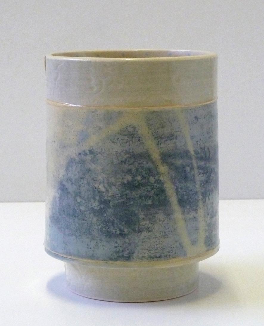 <span class=&#34;link fancybox-details-link&#34;><a href=&#34;/artists/157-emily-kriste-wilcox/works/3962-emily-kriste-wilcox-small-vessel-pale-blue-print-with-yellow-accent-2017/&#34;>View Detail Page</a></span><div class=&#34;artist&#34;><strong>Emily-Kriste Wilcox</strong></div> <div class=&#34;title&#34;><em>Small Vessel, Pale Blue Print with Yellow Accent</em>, 2017</div> <div class=&#34;medium&#34;>handbuilt ceramic</div> <div class=&#34;dimensions&#34;>13 x 9.5 x 9.5 cm<br /> 5 1/8 x 3 3/4 x 3 3/4 inches</div><div class=&#34;copyright_line&#34;>OwnArt: £ 13 x £ 10 Months, 0% APR</div>