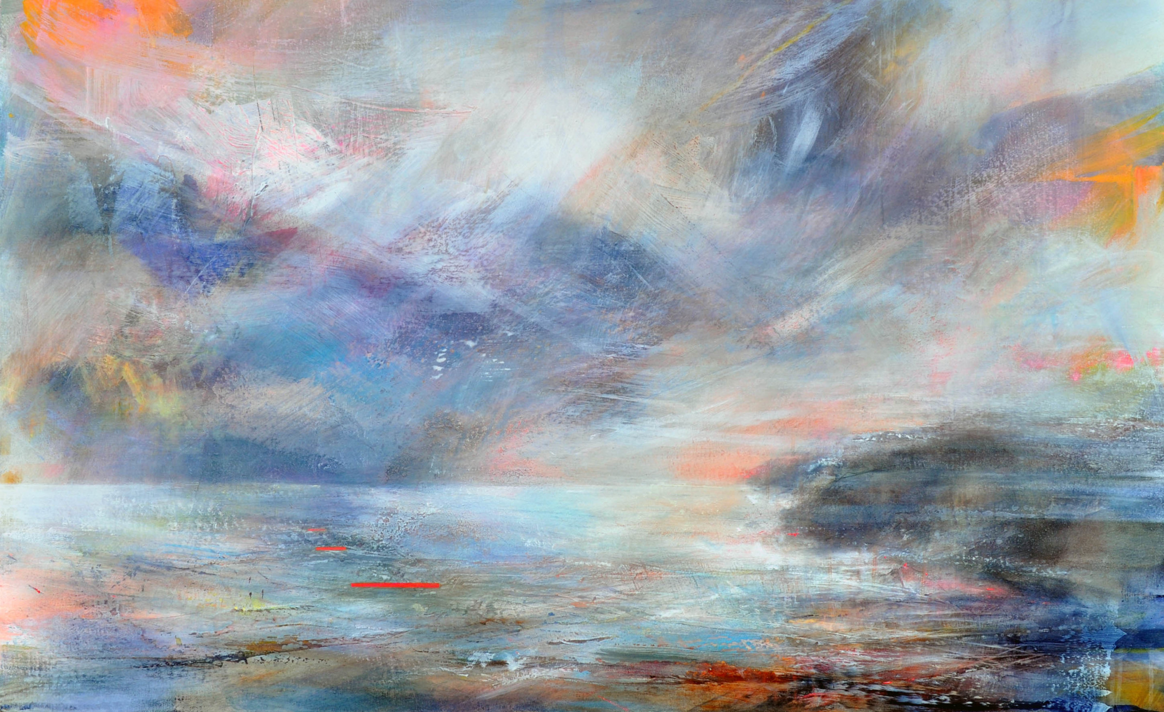 "<span class=""link fancybox-details-link""><a href=""/artists/90-freya-horsley/works/6258-freya-horsley-lingering-light-2019/"">View Detail Page</a></span><div class=""artist""><strong>Freya Horsley</strong></div> <div class=""title""><em>Lingering Light</em>, 2019</div> <div class=""medium"">Mixed media on canvas</div> <div class=""dimensions"">70 x 113 cm</div><div class=""copyright_line"">Own Art £175 x 10 months, 0% APR</div>"
